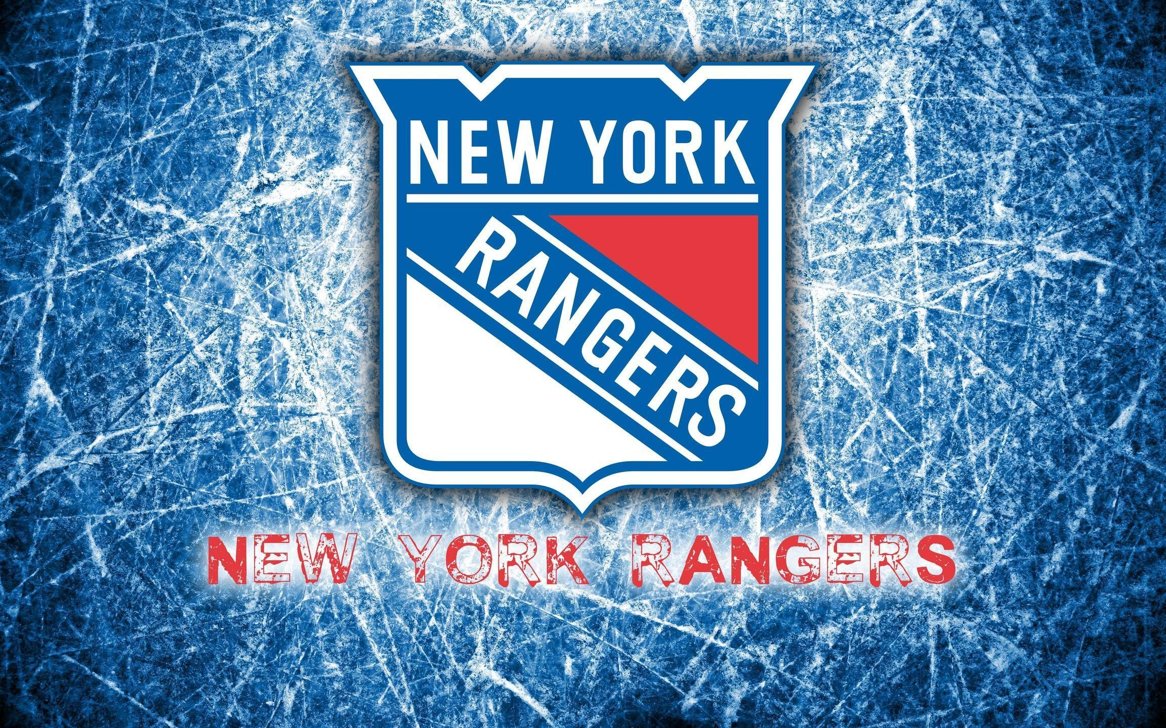 2304x1440 New York Rangers 2014 Logo Wallpaper Wide or HD | Sports Wallpapers