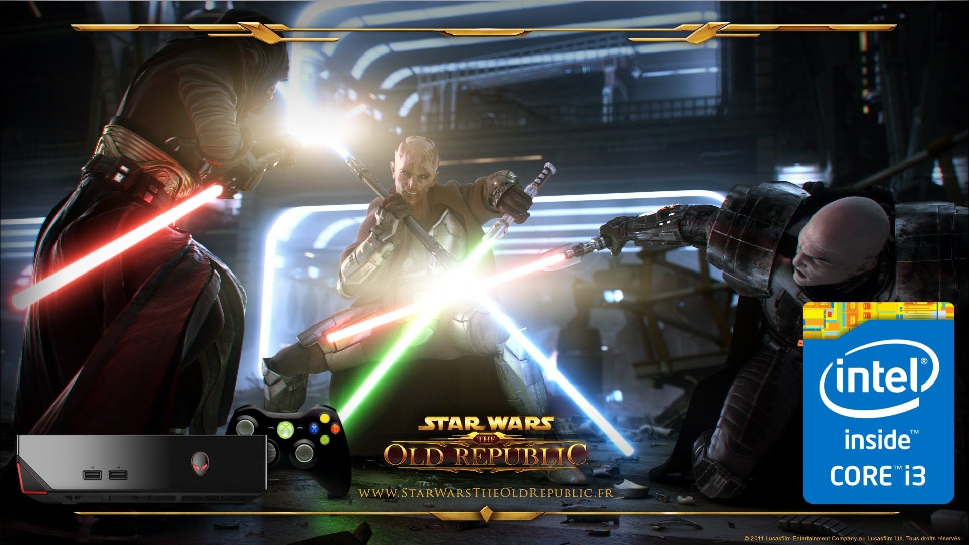 1920x1080 #Alienware Alpha i3 4130T 4GB 500GB Playing Star Wars: The Old Republic On  Ultra Settings #Swtor