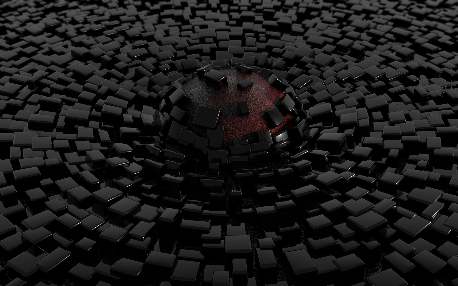 1920x1200 Awesome wallpaper of Wallpaper Sphere Lava In A Black Tiled Floor,  resolution 1280 x type Digital Art Photoshop Art Awesome, for Desktop of  your PC.