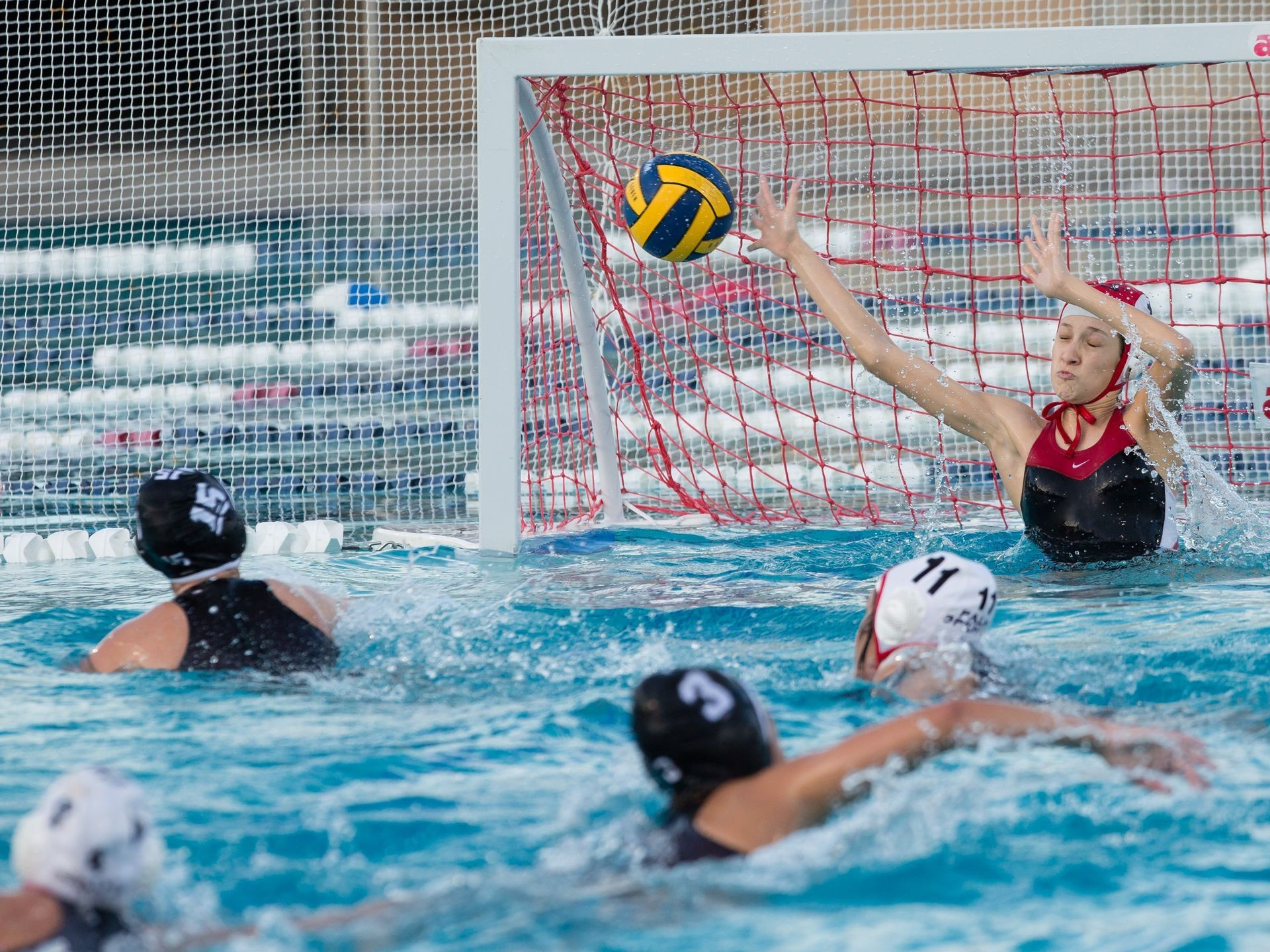 1920x1440 Xavier Prep girls' water polo defeats Palm Springs
