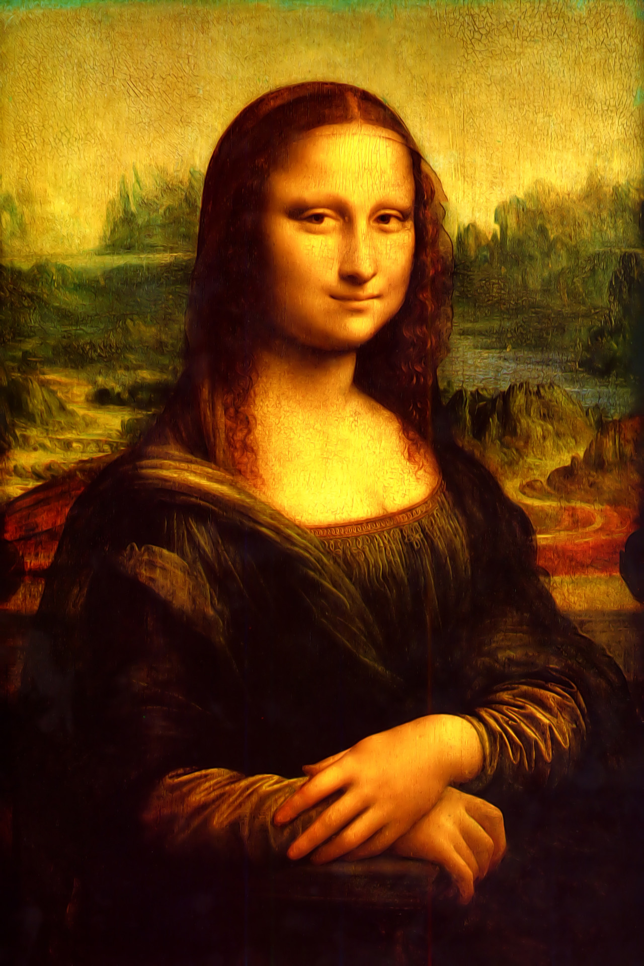 Mona Lisa Wallpaper (68+ images) Da Vinci Mona Lisa