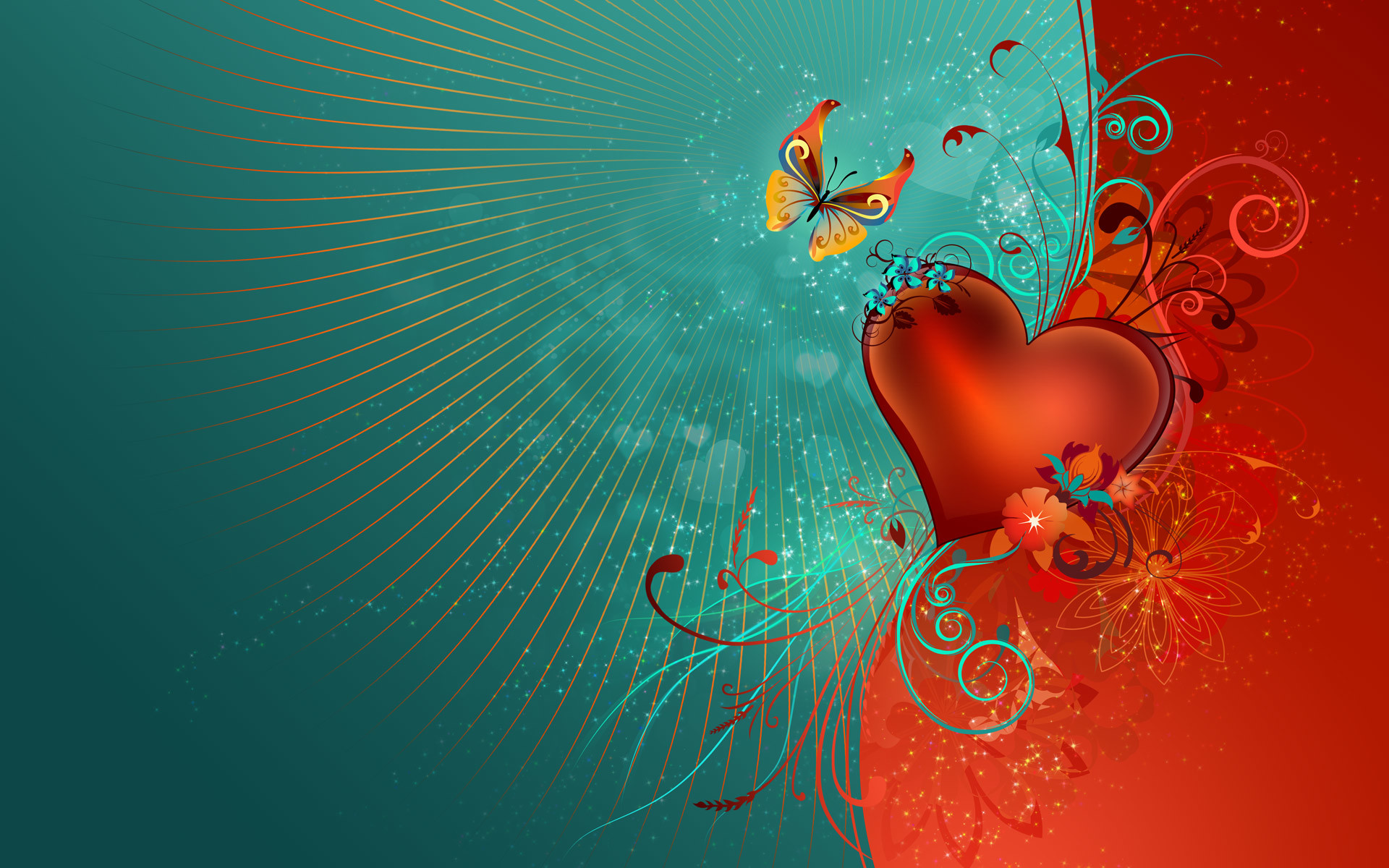 1920x1200 Love Heart HDTV 1080p Wallpapers | HD Wallpapers
