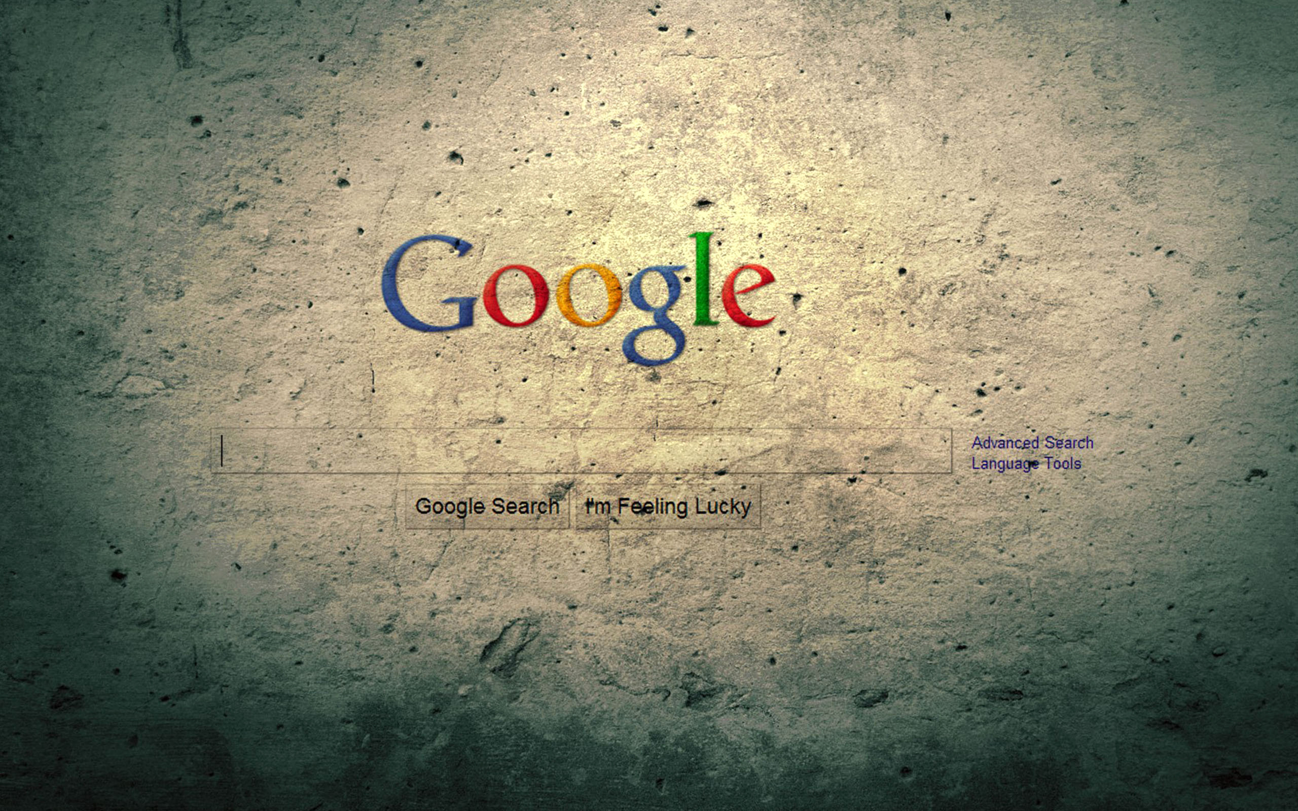 google homepage background