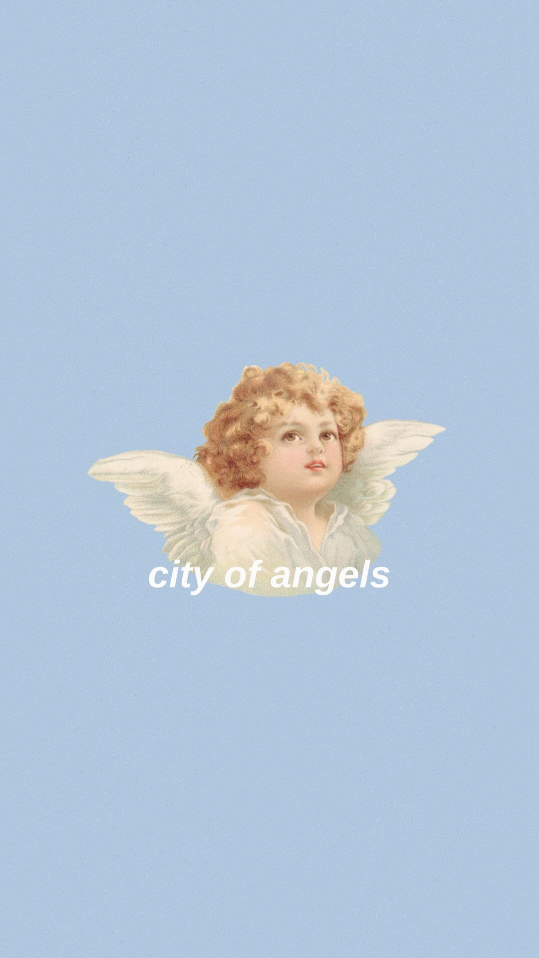 1080x1921 #angelwings #angel #cherub #aesthetic #aesthetictumblr  #aestheticallypleasing #iphonewallpaper #wallpaper #background #losangeles  #cityofangels #blue ...