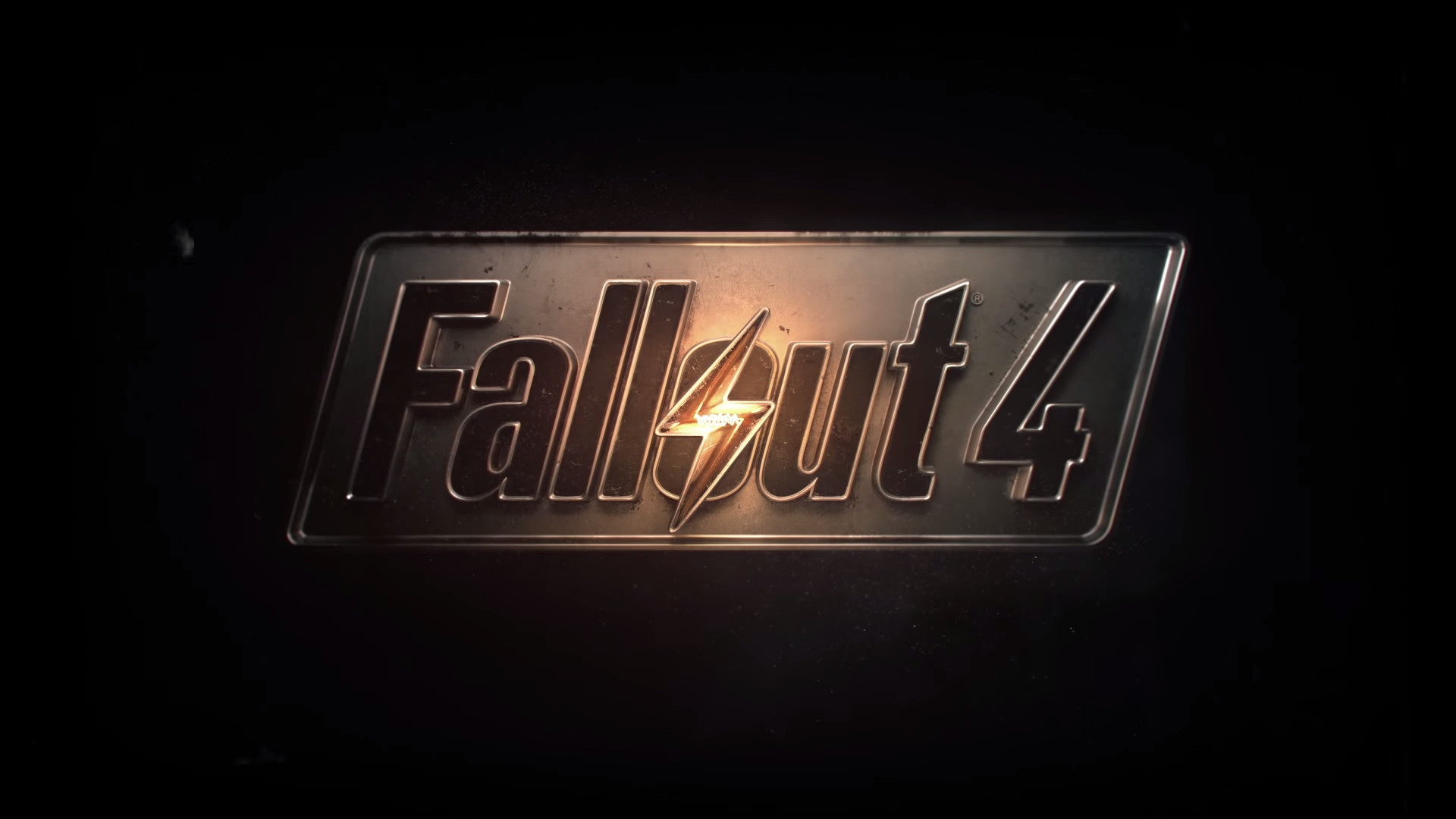 1920x1080 Fallout 4 logo wallpaper 1080p (For those who prefer a more minimal  wallpaper) ...