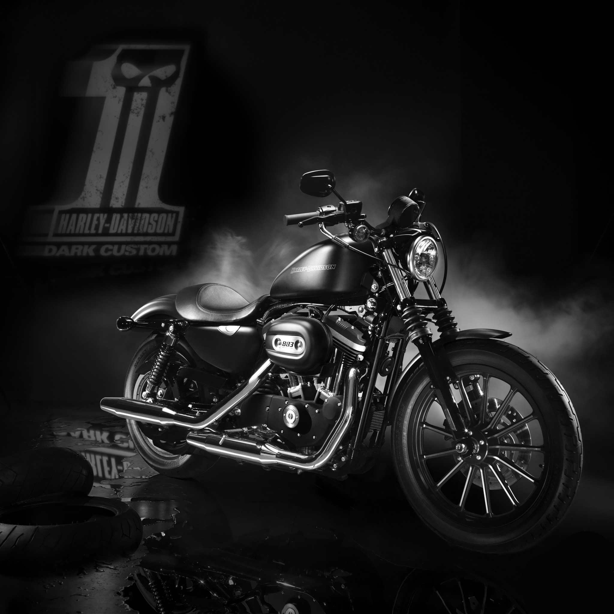 Wallpaper 2018 Harley Davidson Iron 883 (69+ Images