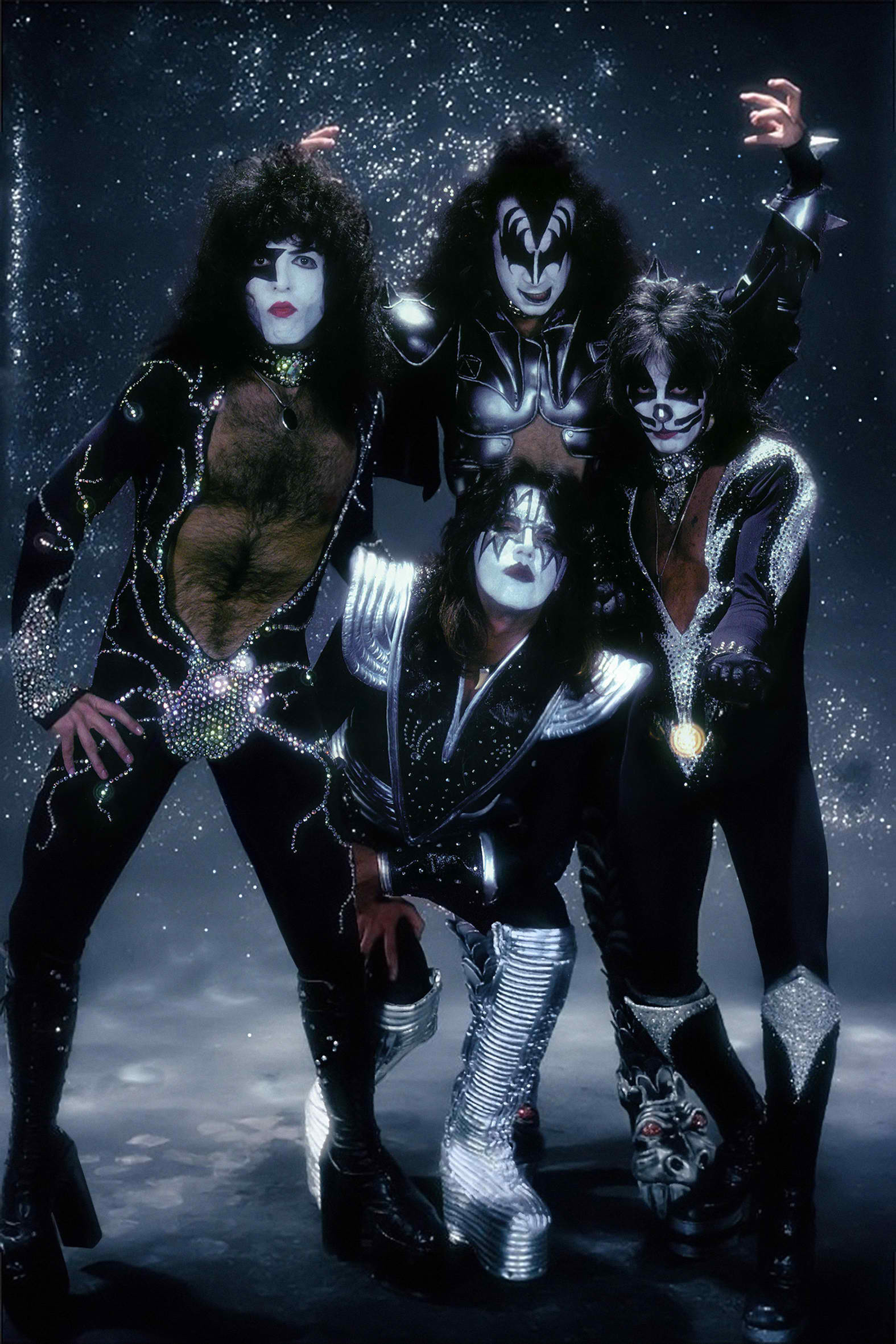 1575x2362 Kiss Band Wallpaper For IPhone 7