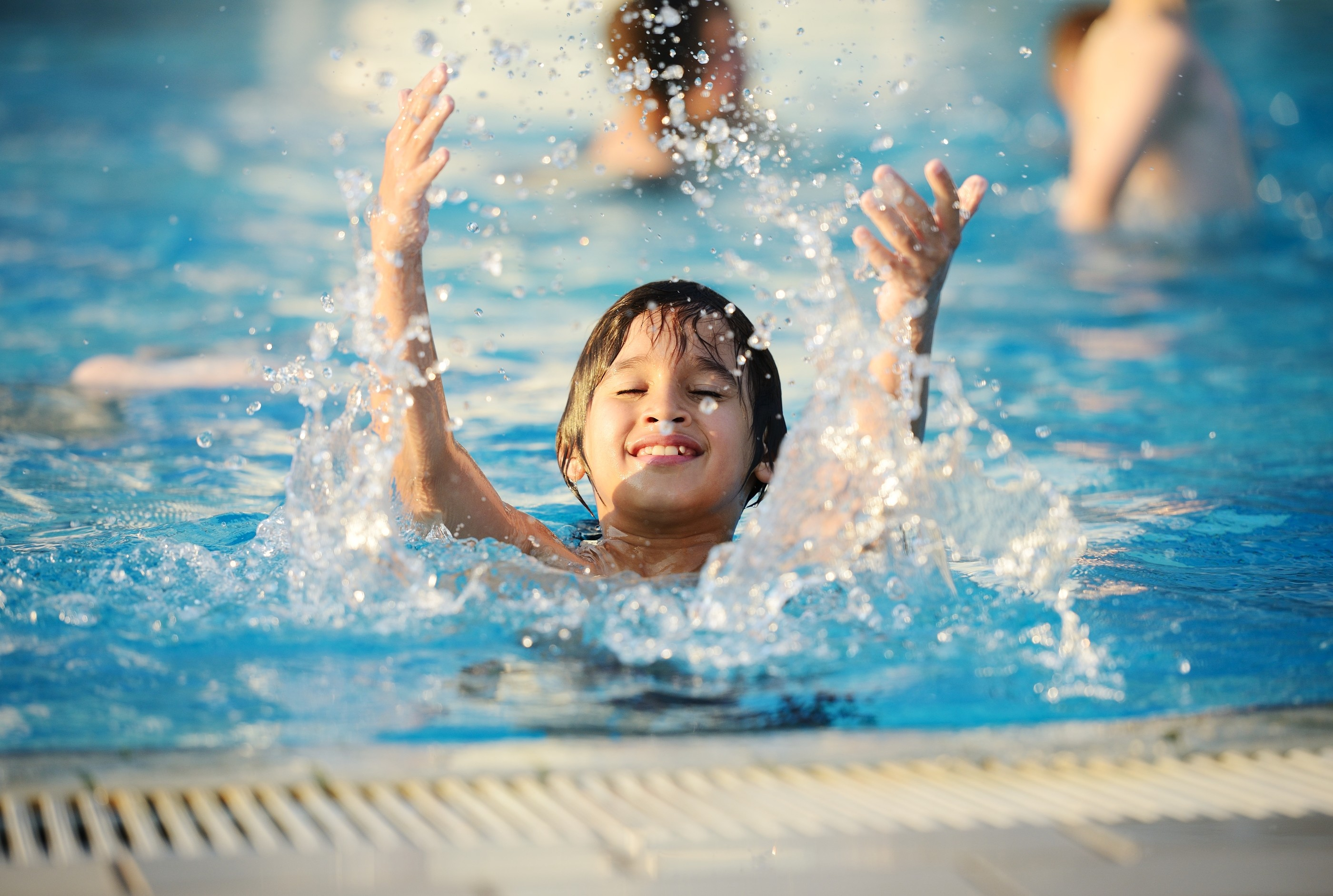 Kids in Swimming Pool Wallpaper (64+ images)
