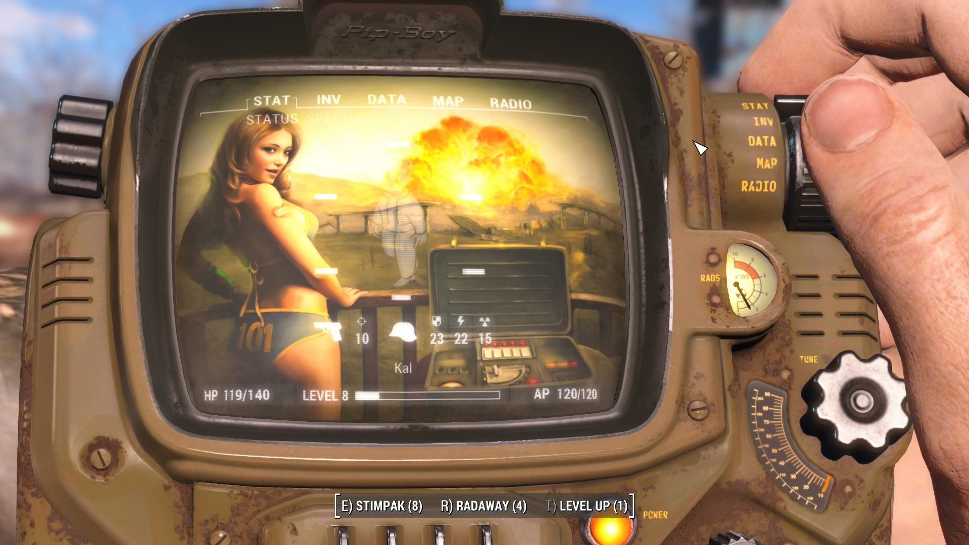 1920x1080 PipBoy Screen - Sexy Vault Girl at Fallout 4 Nexus - Mods and community