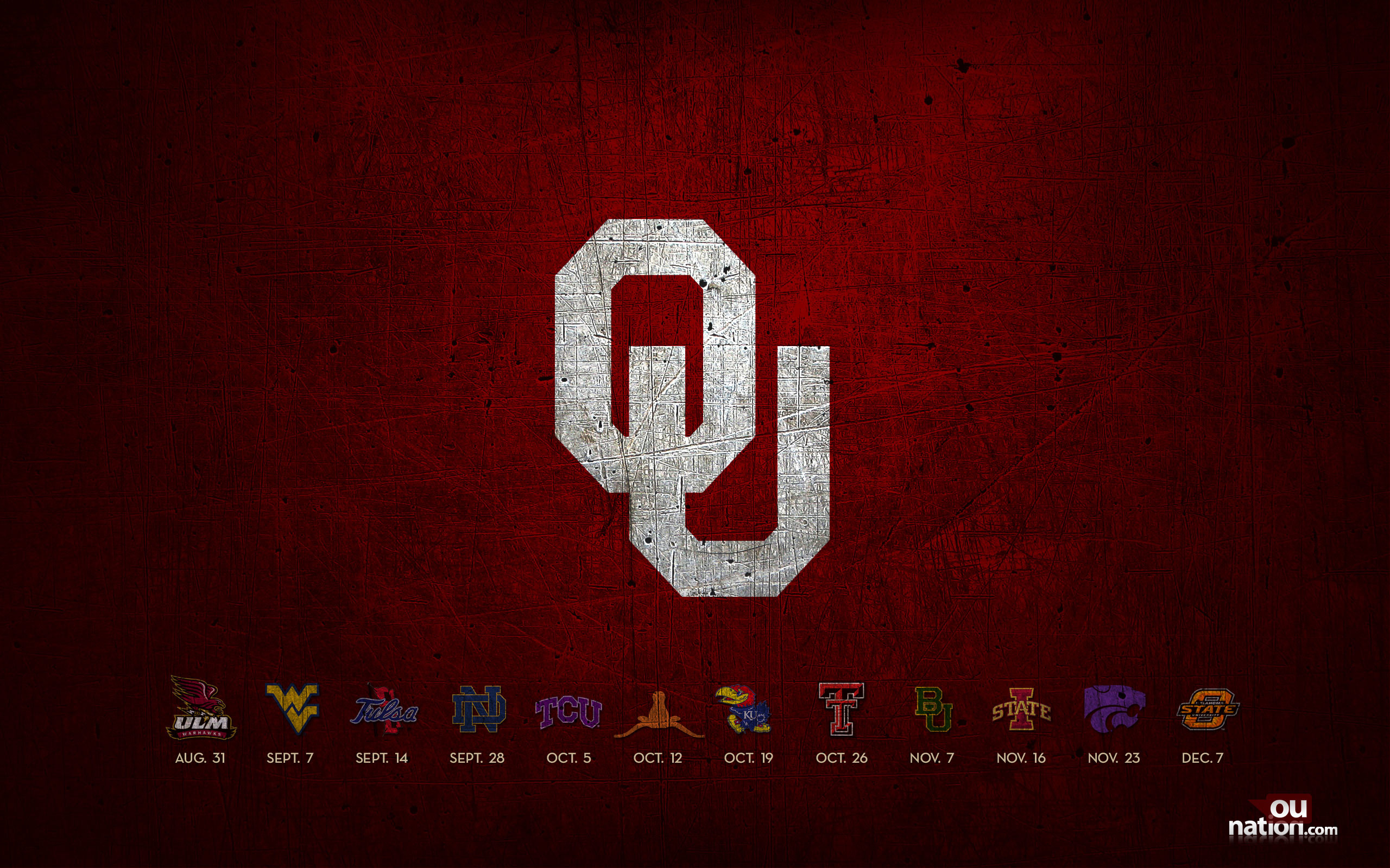 2018 Oklahoma University Football Schedule Wallpaper 78 Images