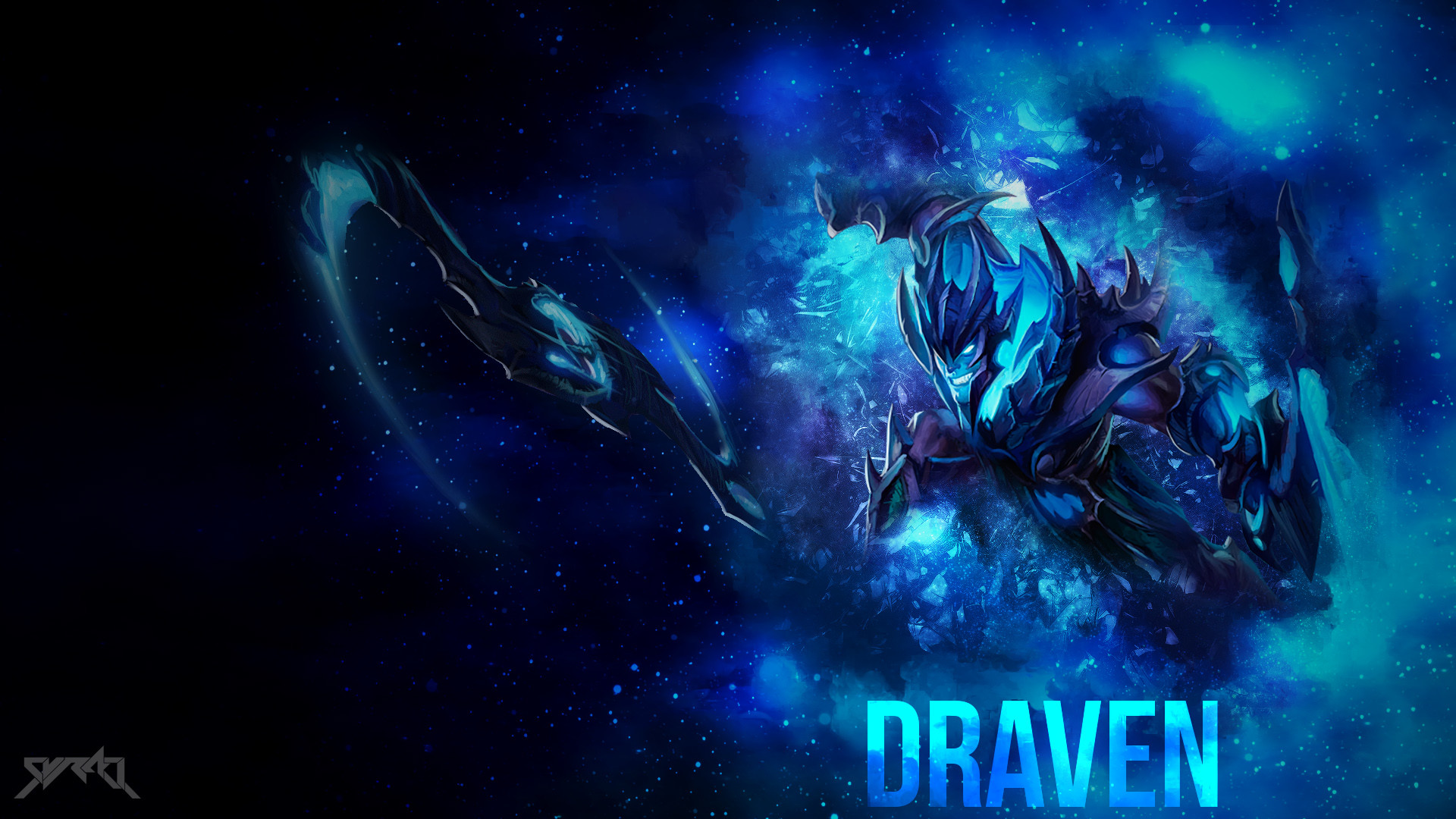 1920x1080 Soul Reaver Draven by syraelx HD Wallpaper Fan Art Artwork League of  Legends lol