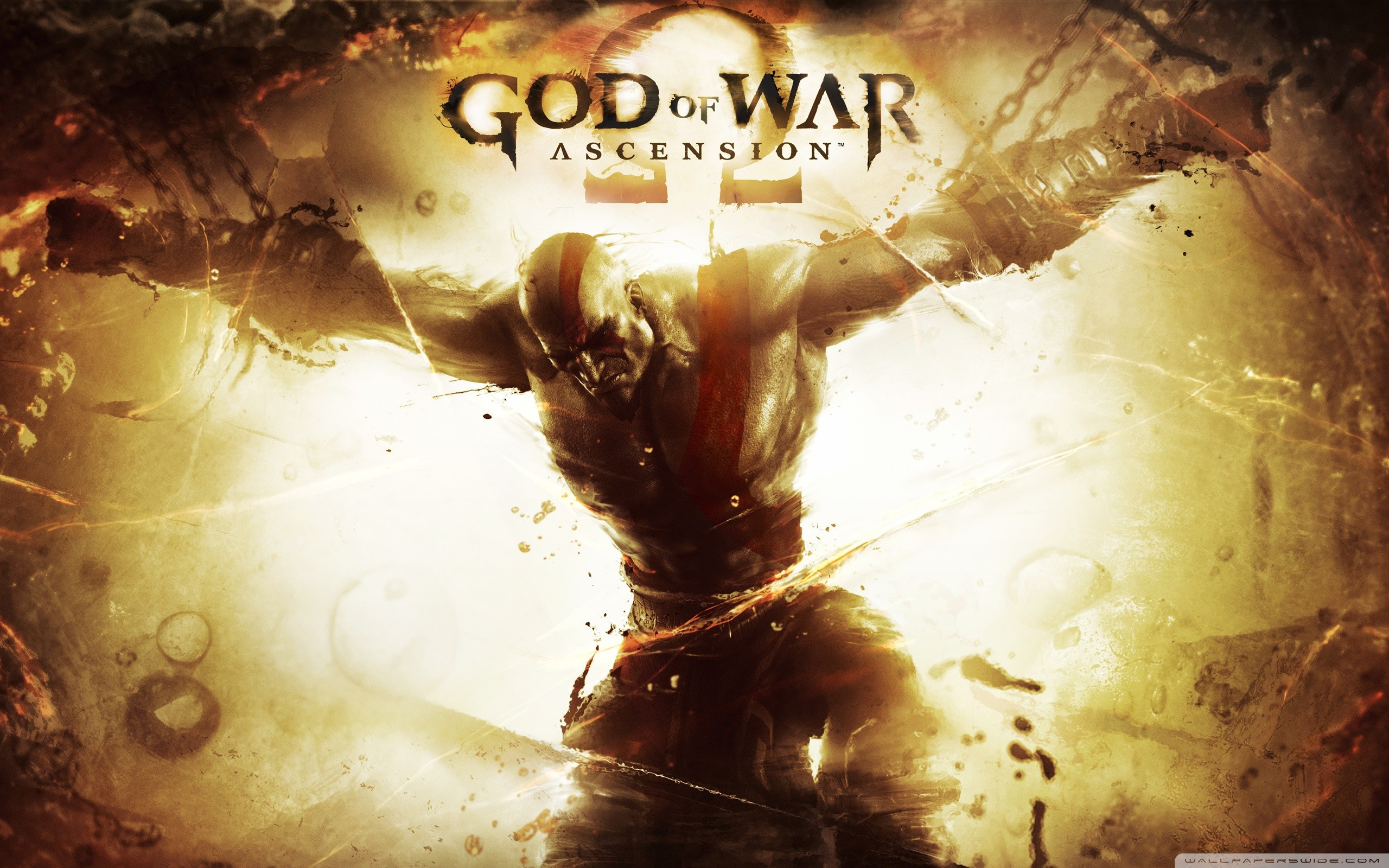 2560x1600 God of War: Ascension HD Wide Wallpaper for Widescreen