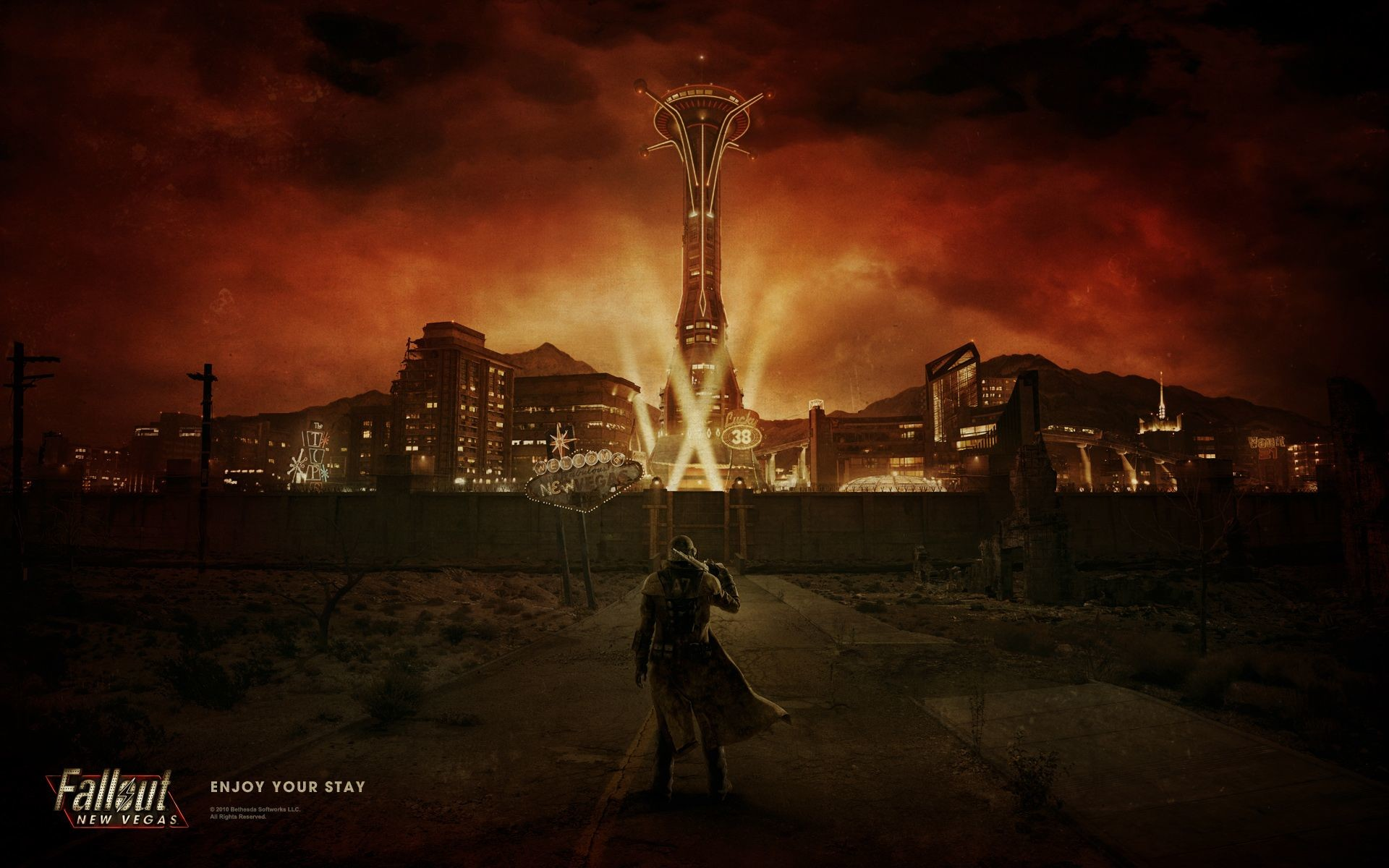 Fallout New Vegas Wallpaper 1080p 82 Images
