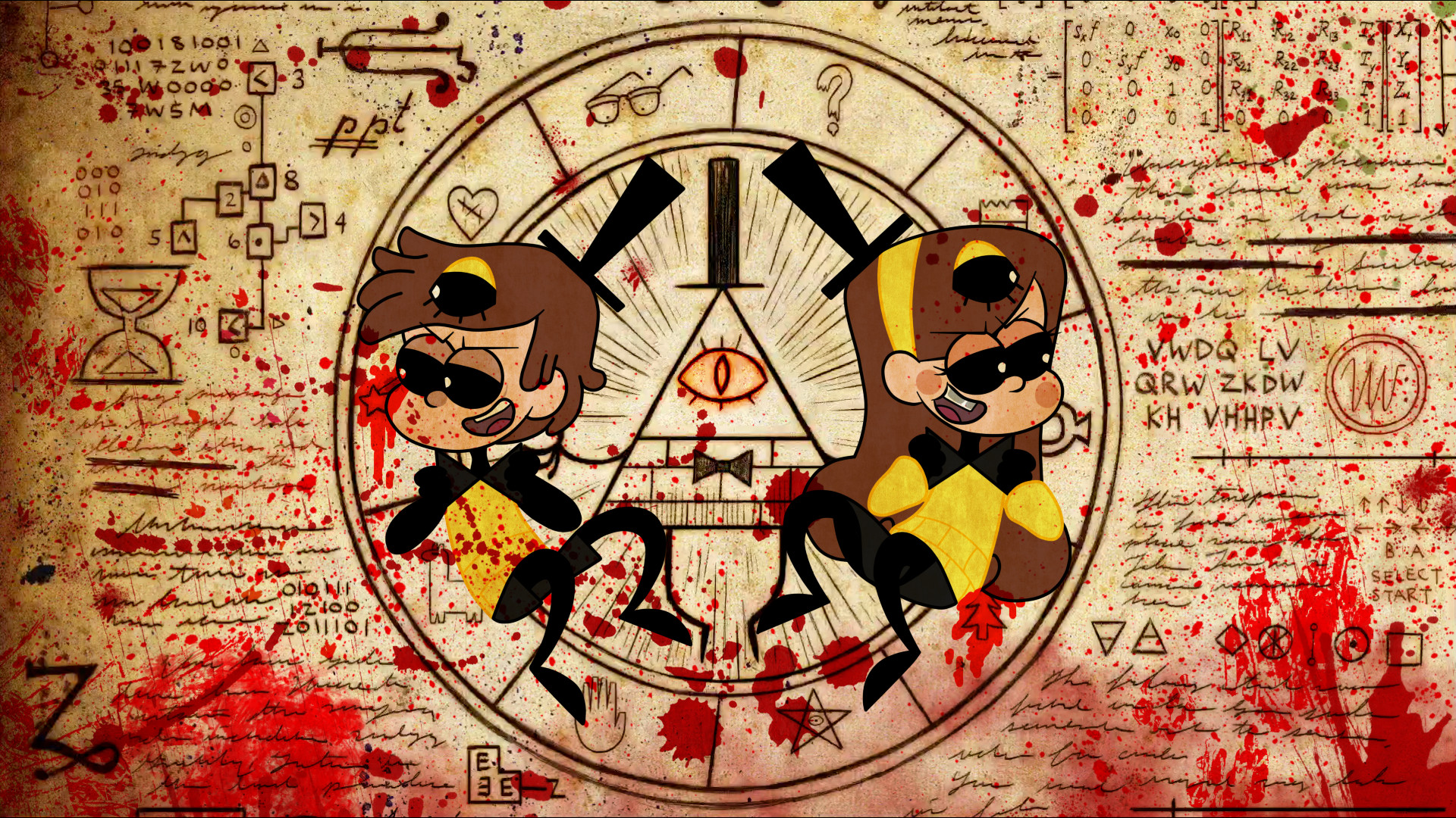 1920x1080 Pin by Aliyah Chung on Gravity Falls | Pinterest | Art, Twin and deviantART