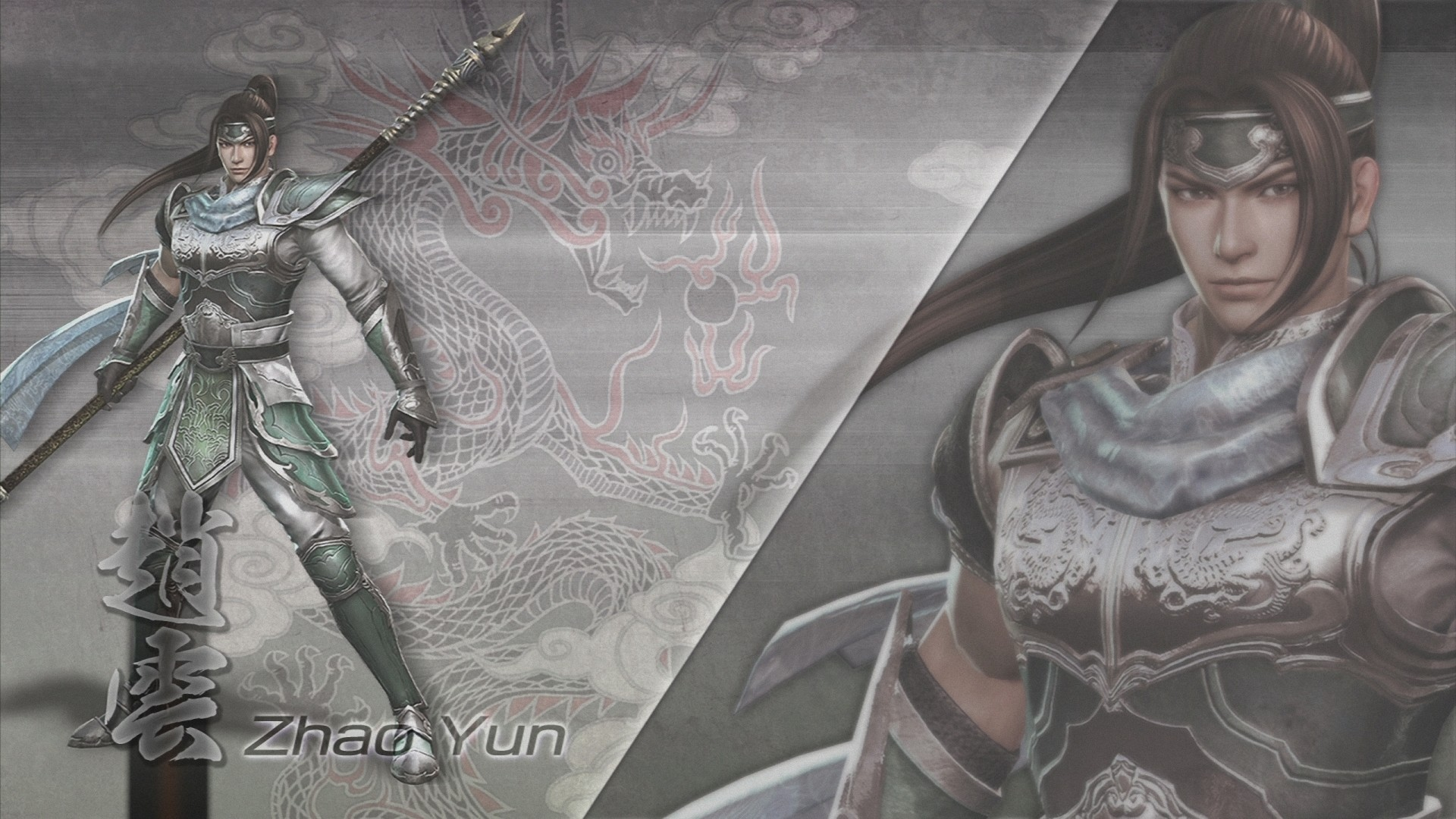 1920x1080 Tags: Anime, Dynasty Warriors, Zhao Yun, Wallpaper, HD Wallpaper, Official