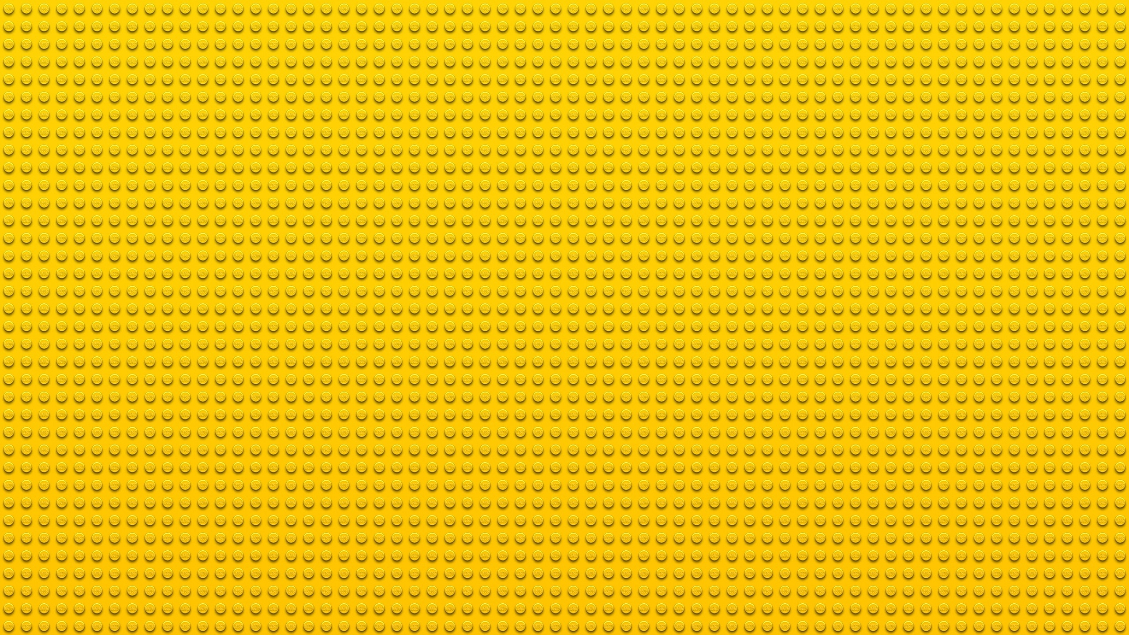 3840x2160 Wallpaper  Lego, Points, Circles, Yellow 4K Ultra HD HD .