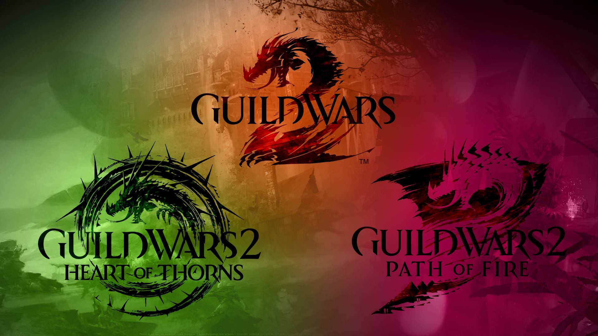1920x1080 Guild Wars 2 / HoT / PoF wallpaper I made