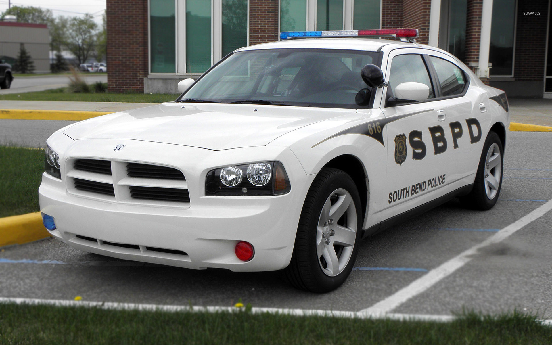 1920x1200 2009 Dodge Charger Police car wallpaper  jpg