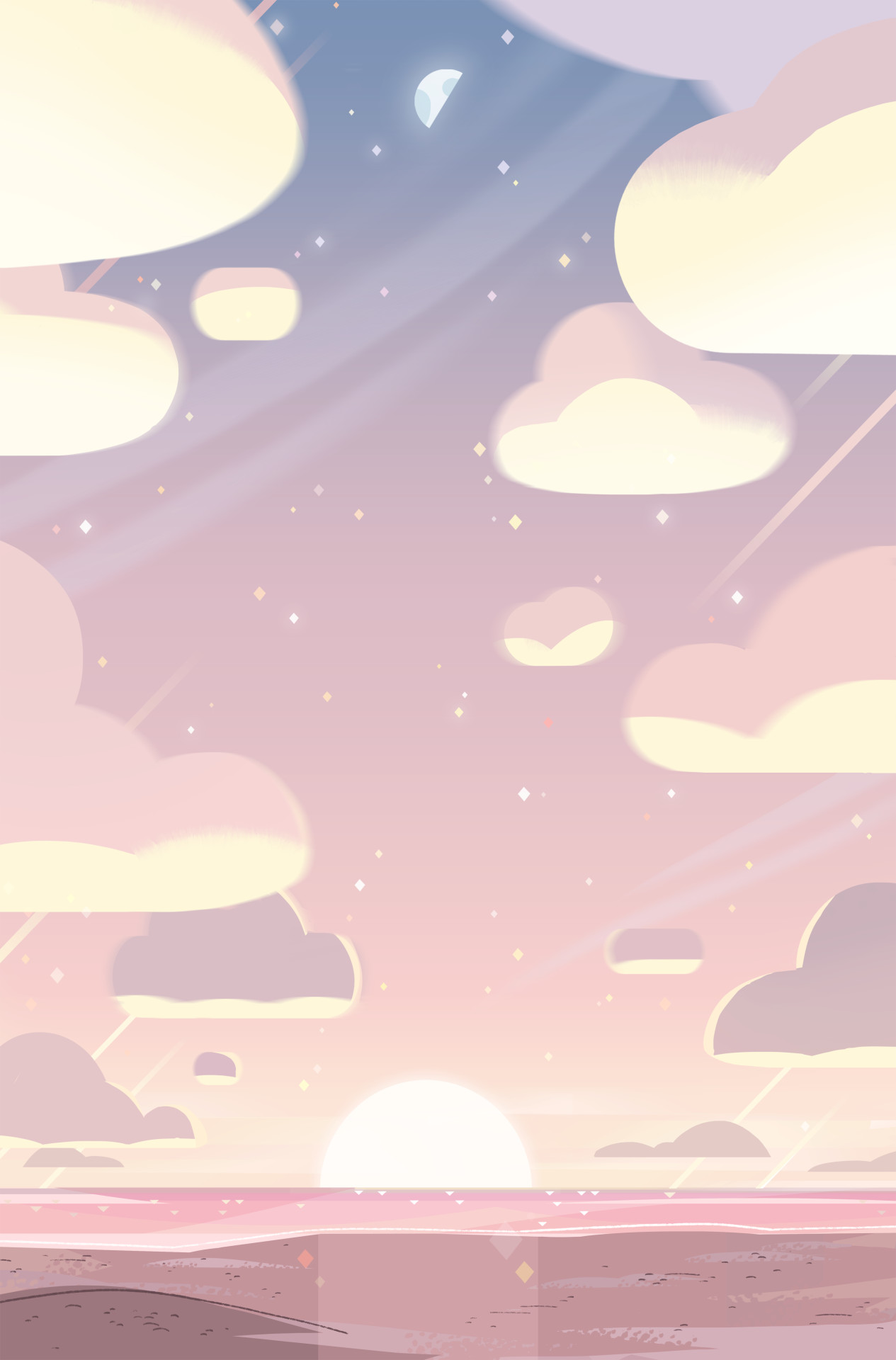1265x1920 Steven Crewniverse Behind-The-Scenes Universe: A selection of Backgrounds from the
