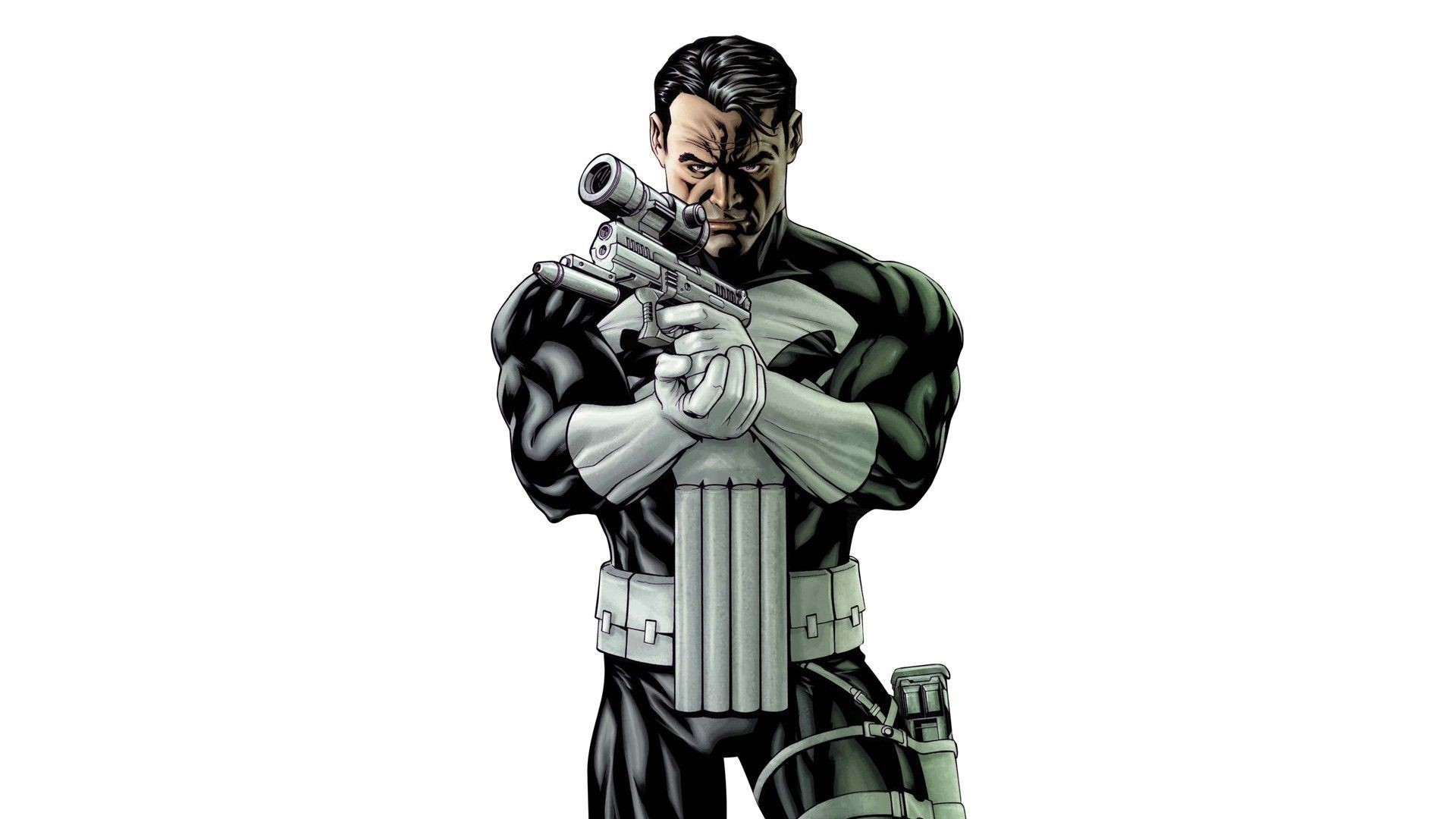 1920x1080 Punisher HD Wallpaper