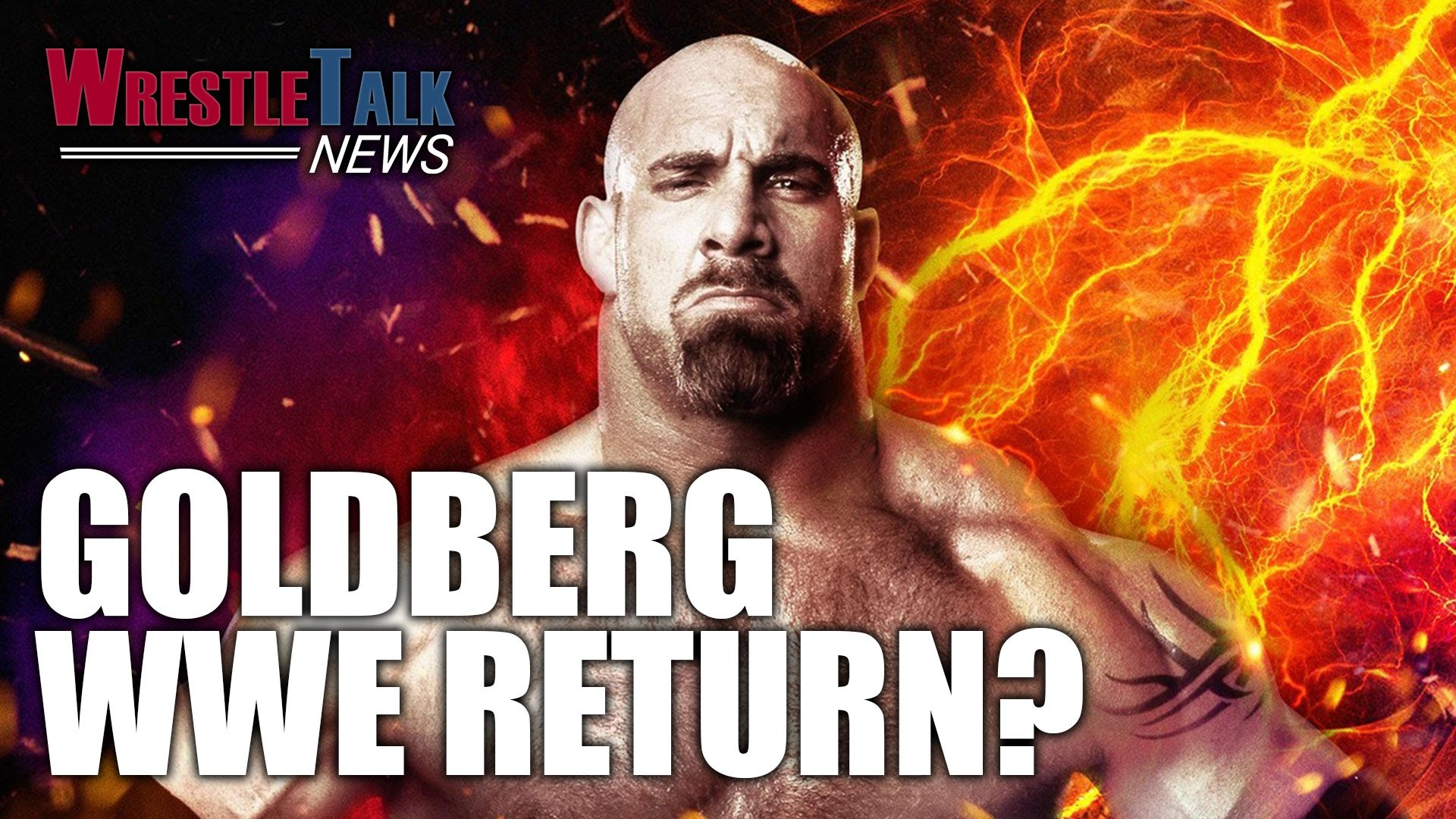 1920x1080 Goldberg Returning To WWE? Brock Lesnar Rematch Teased! | WrestleTalk News