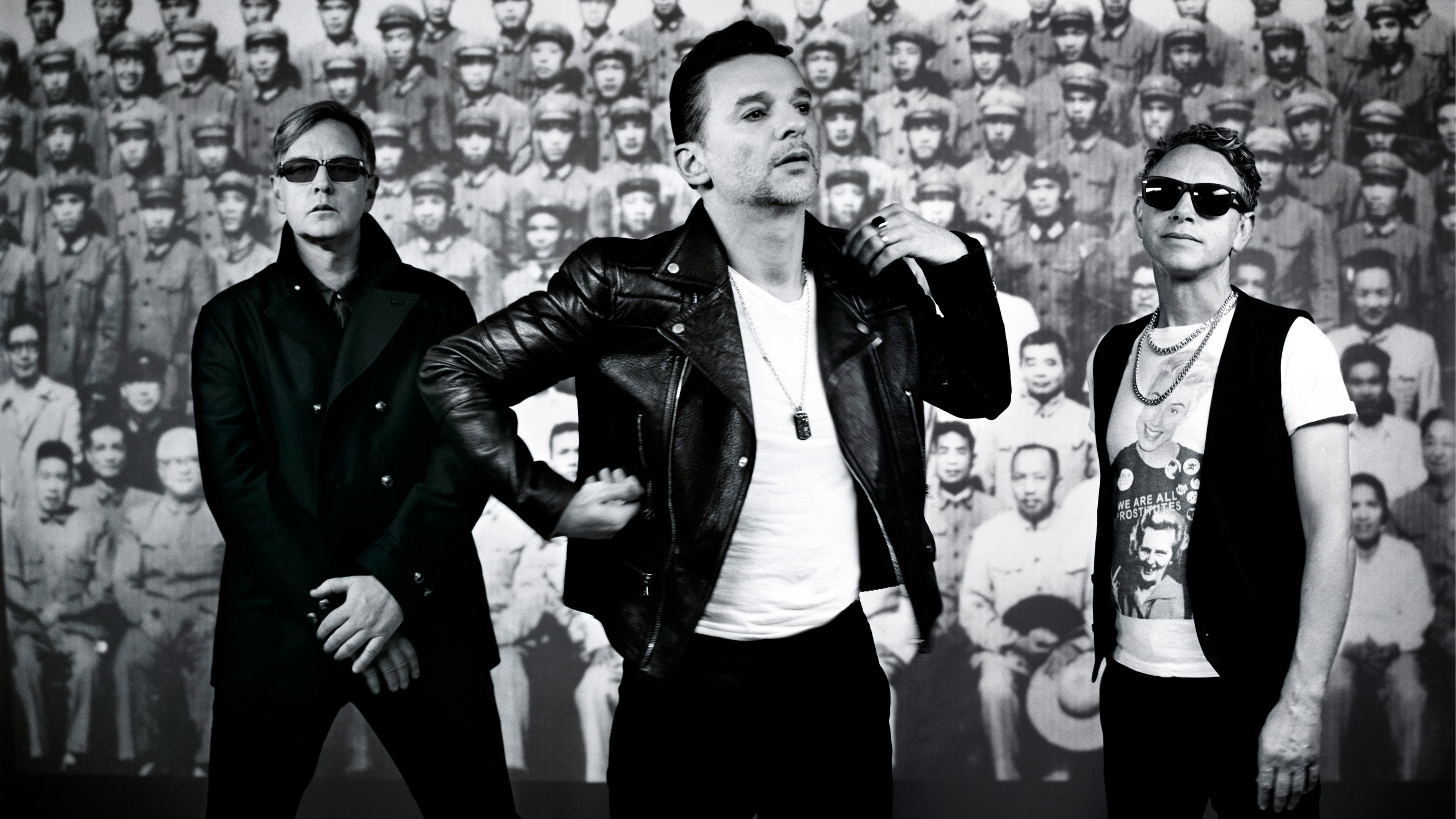 3840x2160  Wallpaper delta machine, david gahan, martin gore, depeche mode,  andrew fletcher