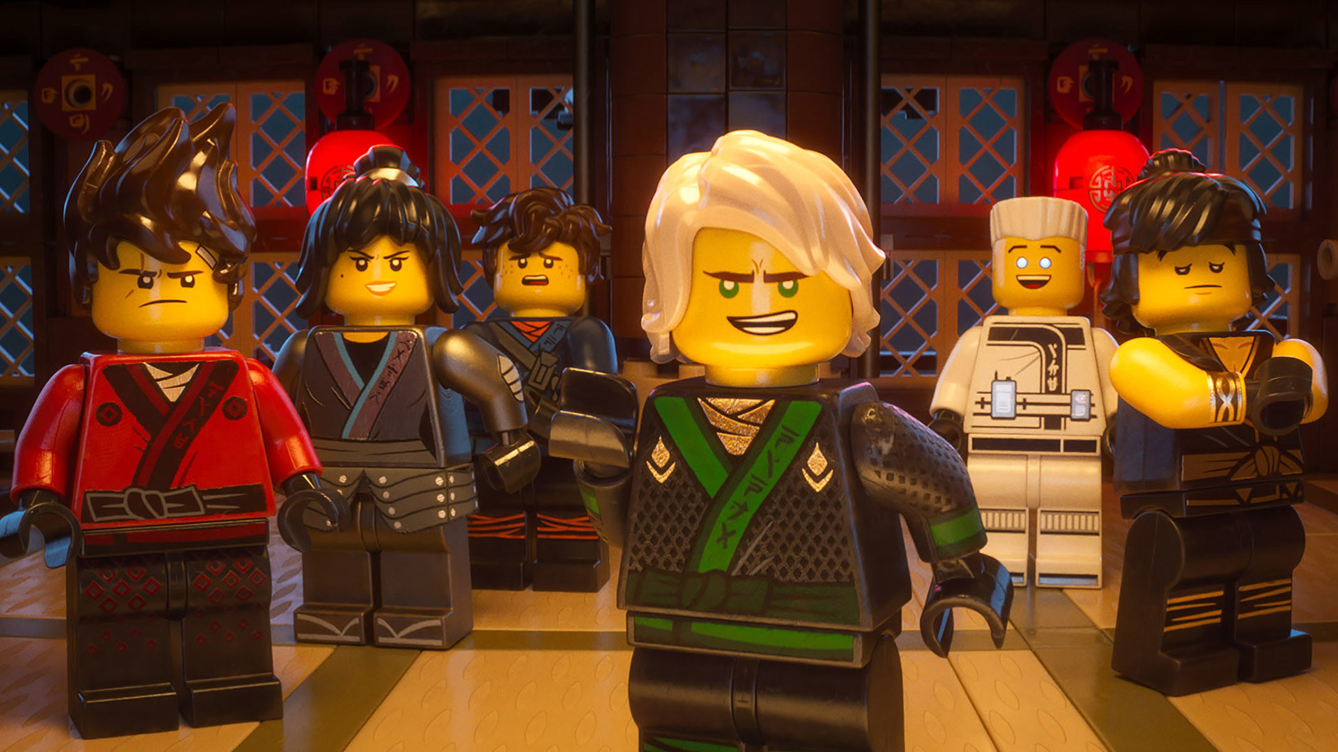 1920x1080 The LEGO Ninjago Movie Wallpaper ninjas