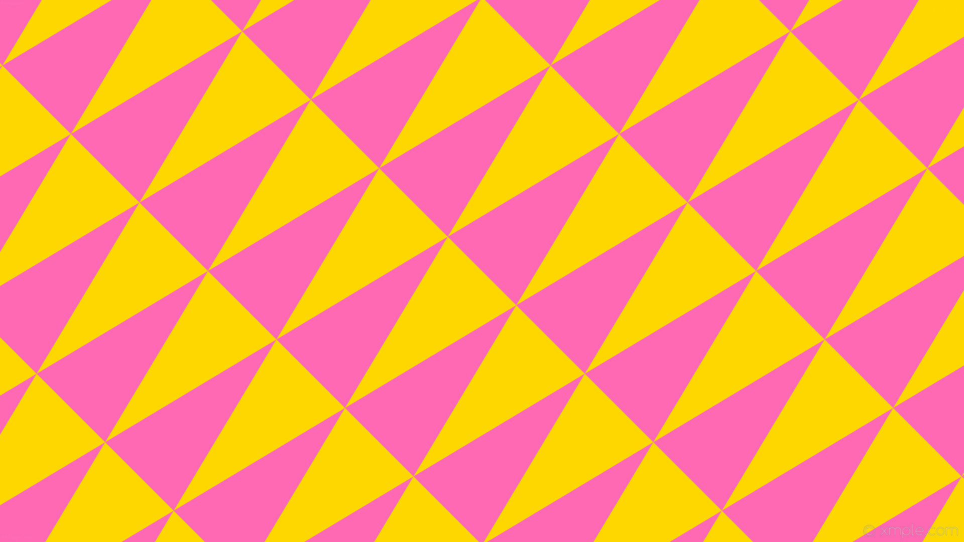 1920x1080 wallpaper pink yellow triangle gold hot pink #ffd700 #ff69b4 315° 193px  772px