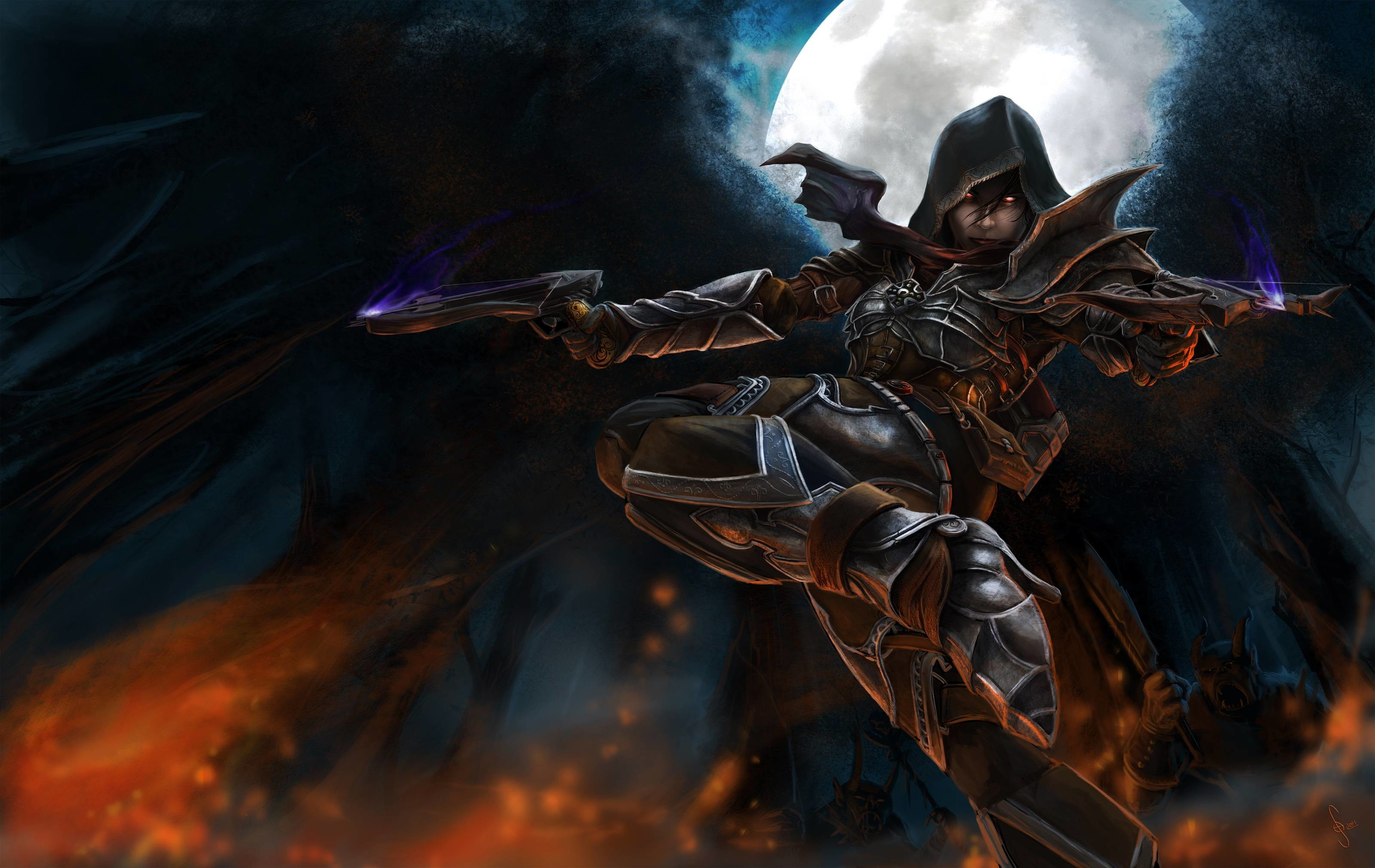 3200x2021 ... demon hunter wallpapers wallpaper cave ...
