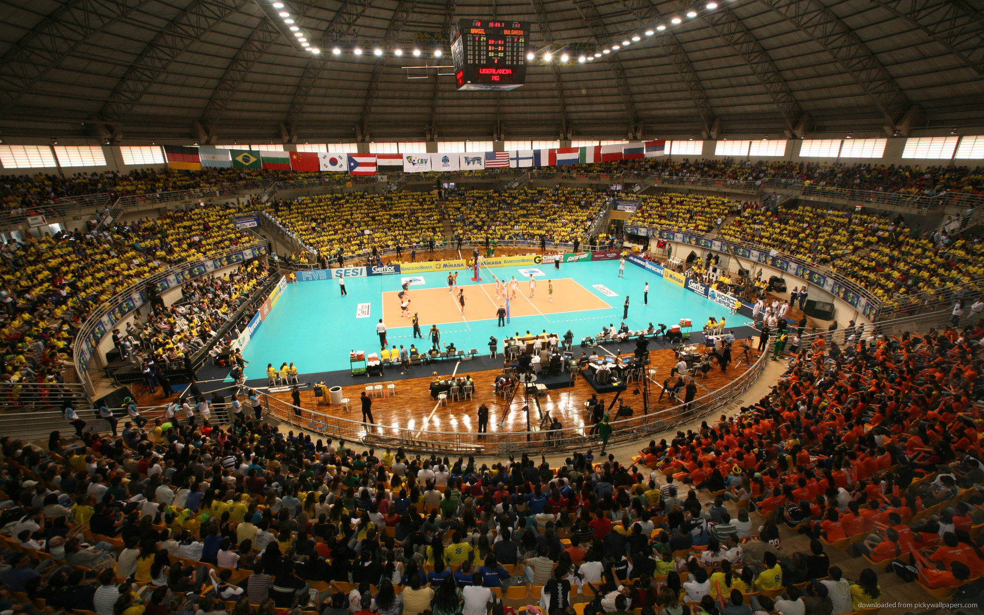 1920x1200 Volleyball Stadium for