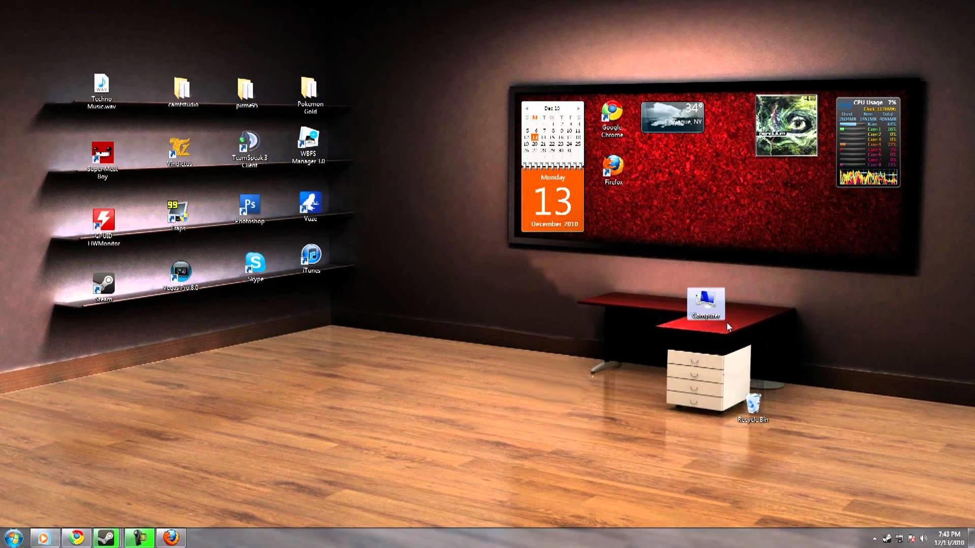 cкринмэйты для рабочего стола portable