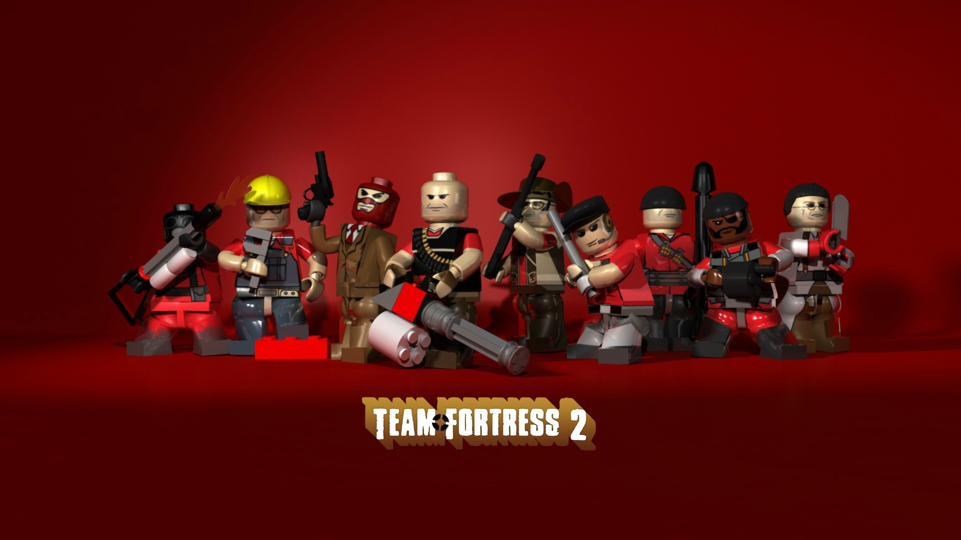 1920x1080 Lego Video Wallpaper  Lego, Video, Games, Team, Fortress, 2