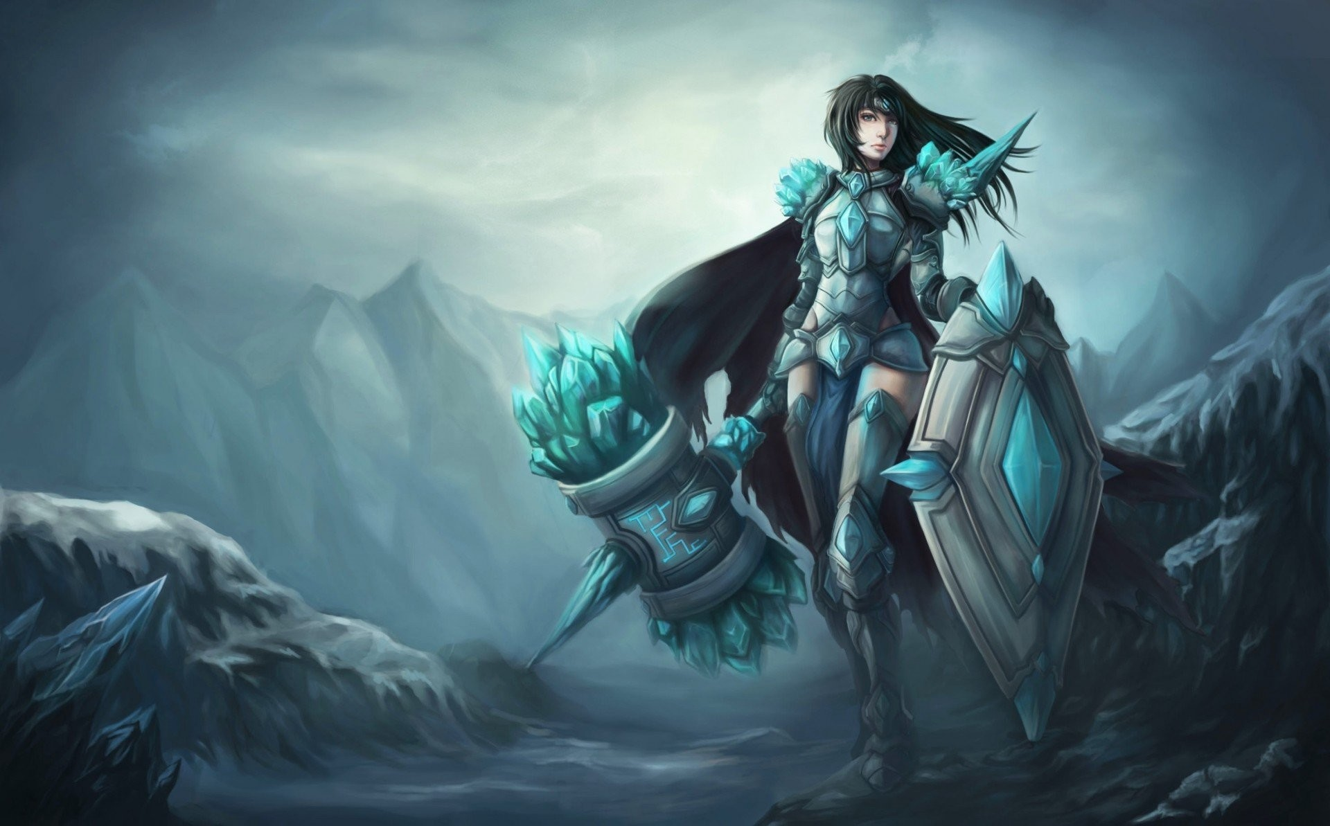 1920x1193 support league of legends a woman lol taric