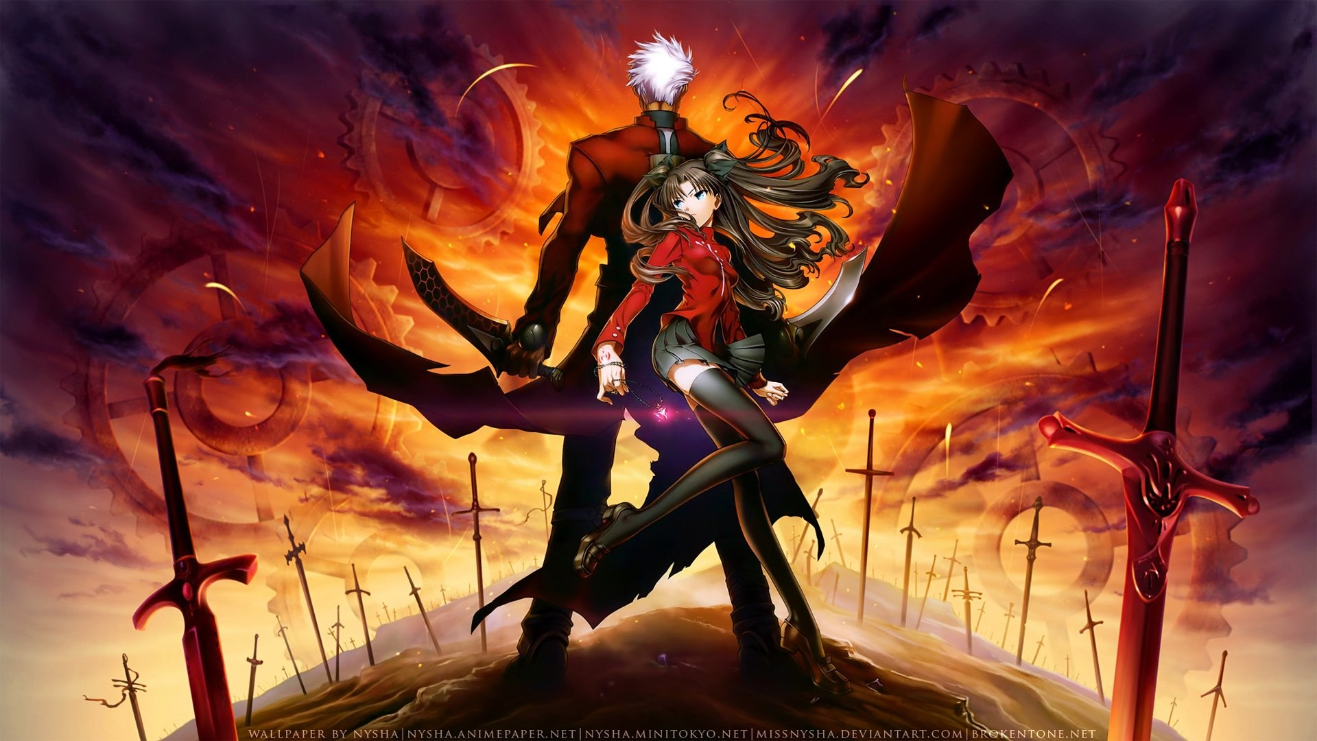1920x1080 ... wallpapers and backgrounds; fate stay night unlimited blade works  walldevil ...