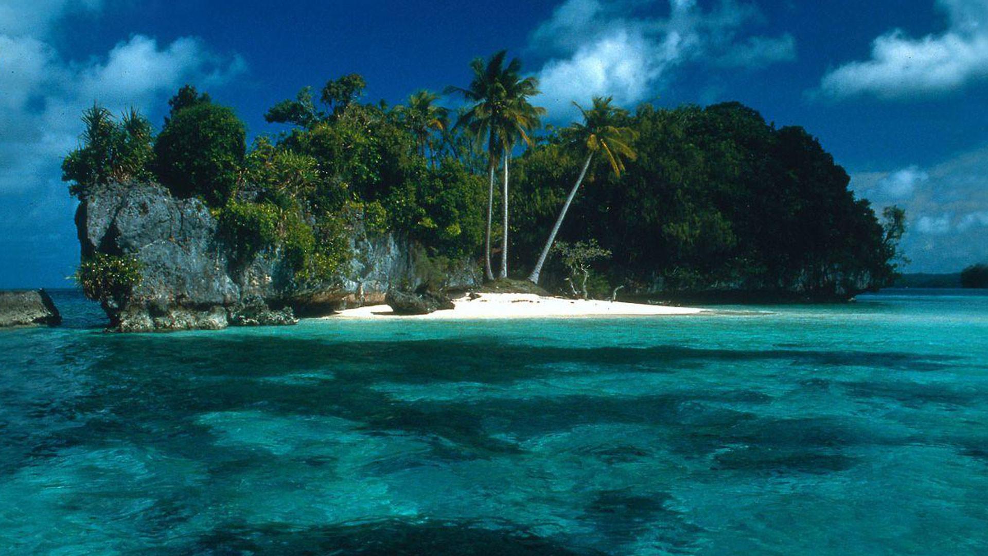 Hd Tropical Island Beach Paradise Wallpapers And Backgrounds: Island Backgrounds For Desktop (48+ Images