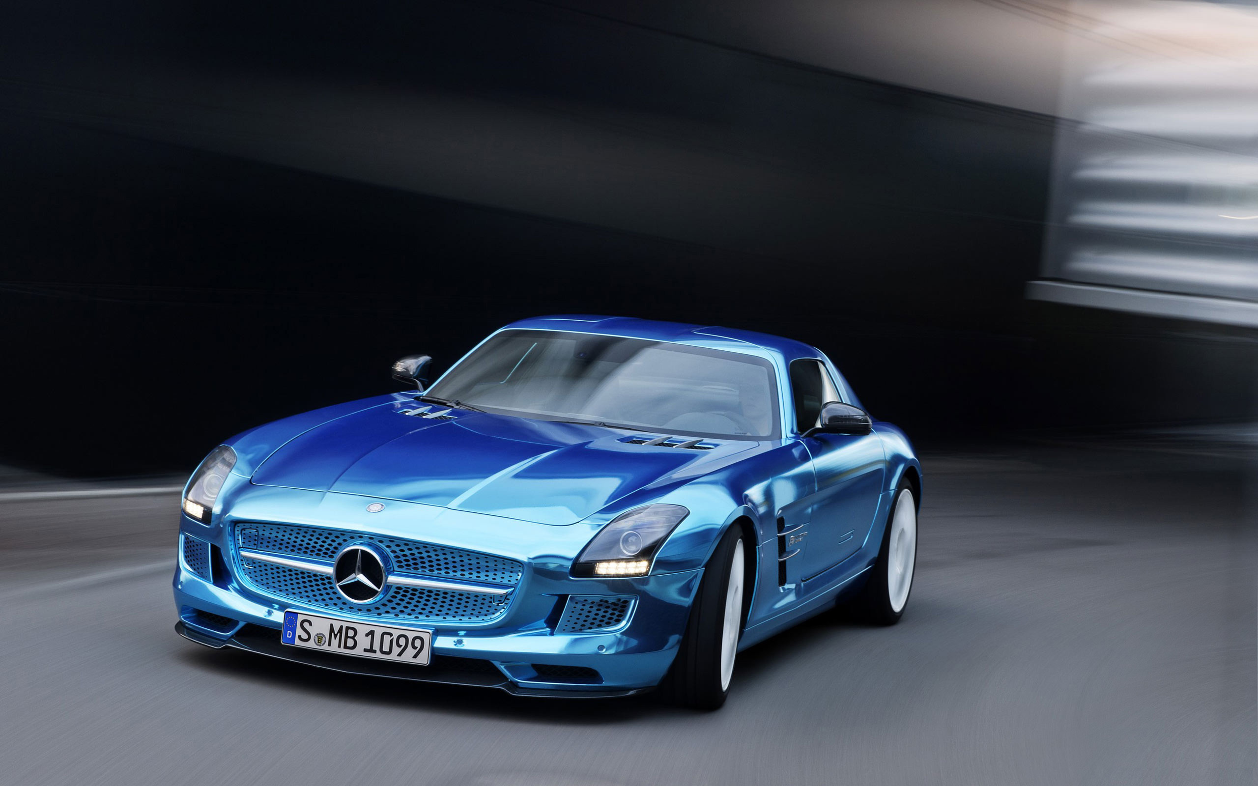 2560x1600 2014 Mercedes Benz SLS AMG Coupe Electric