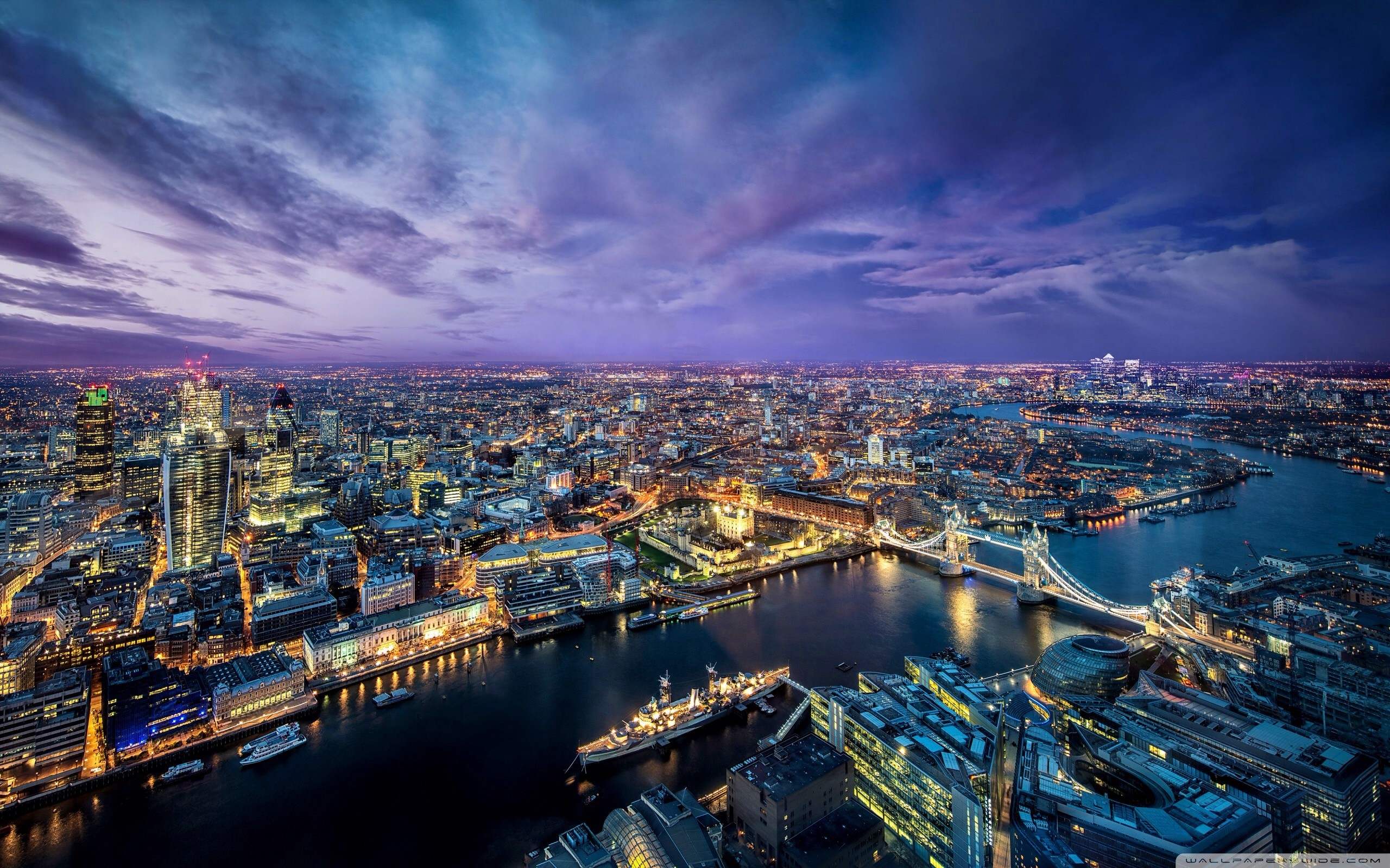 2560x1600 London Night HD desktop wallpaper : High Definition : Fullscreen