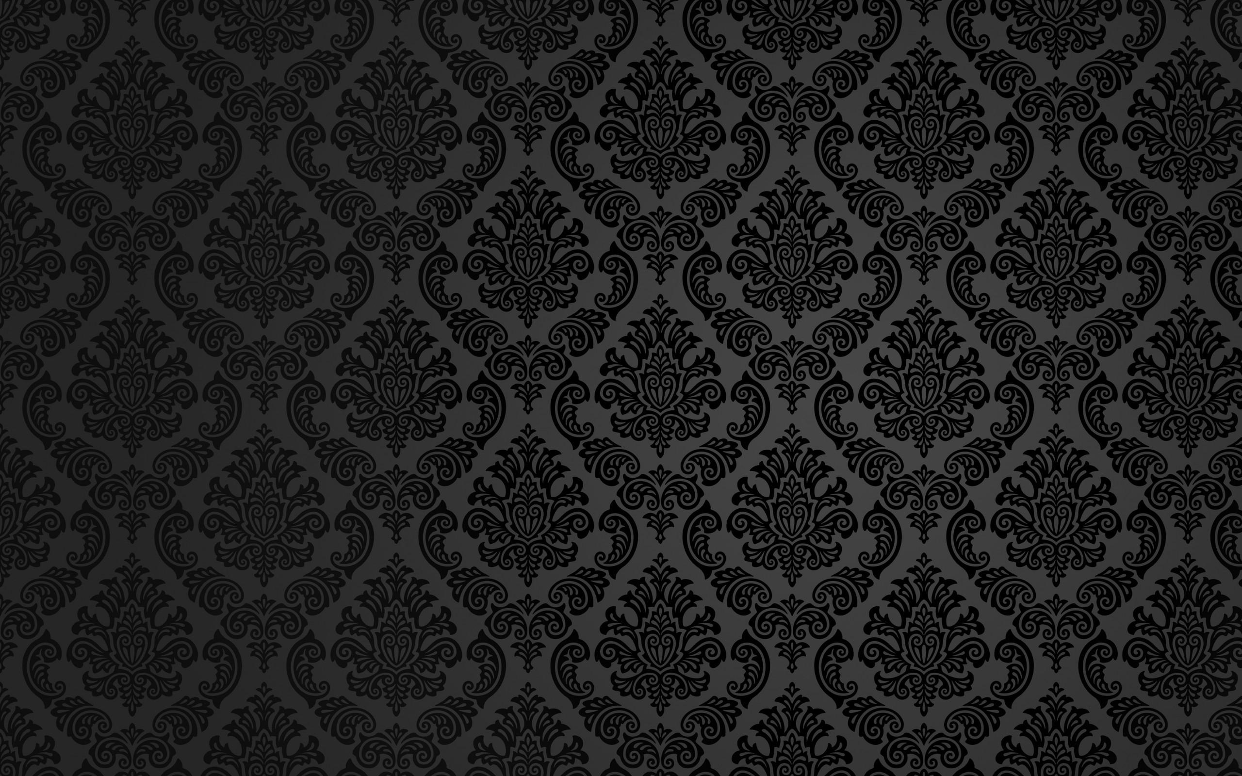 2560x1600 black pattern fancy background wallpaper 10910