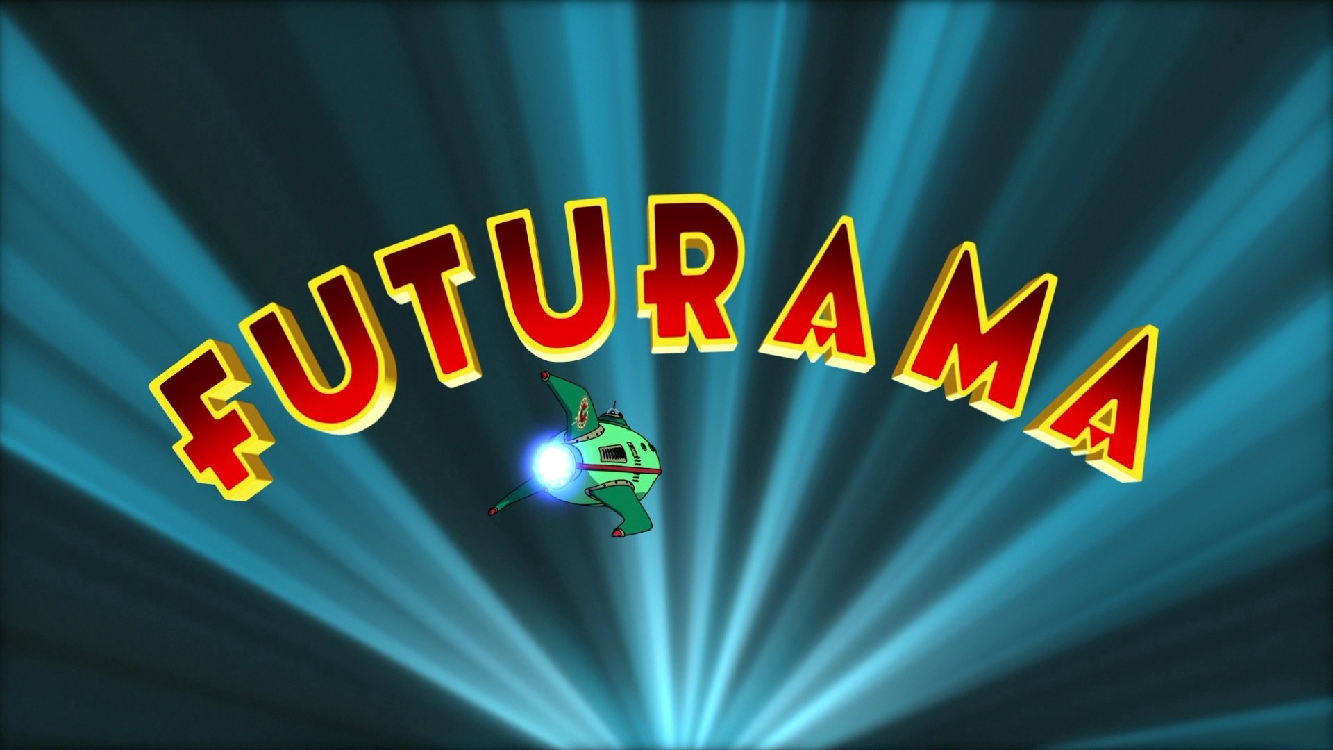 1920x1080  Wallpaper futurama, mission, logo, cartoon