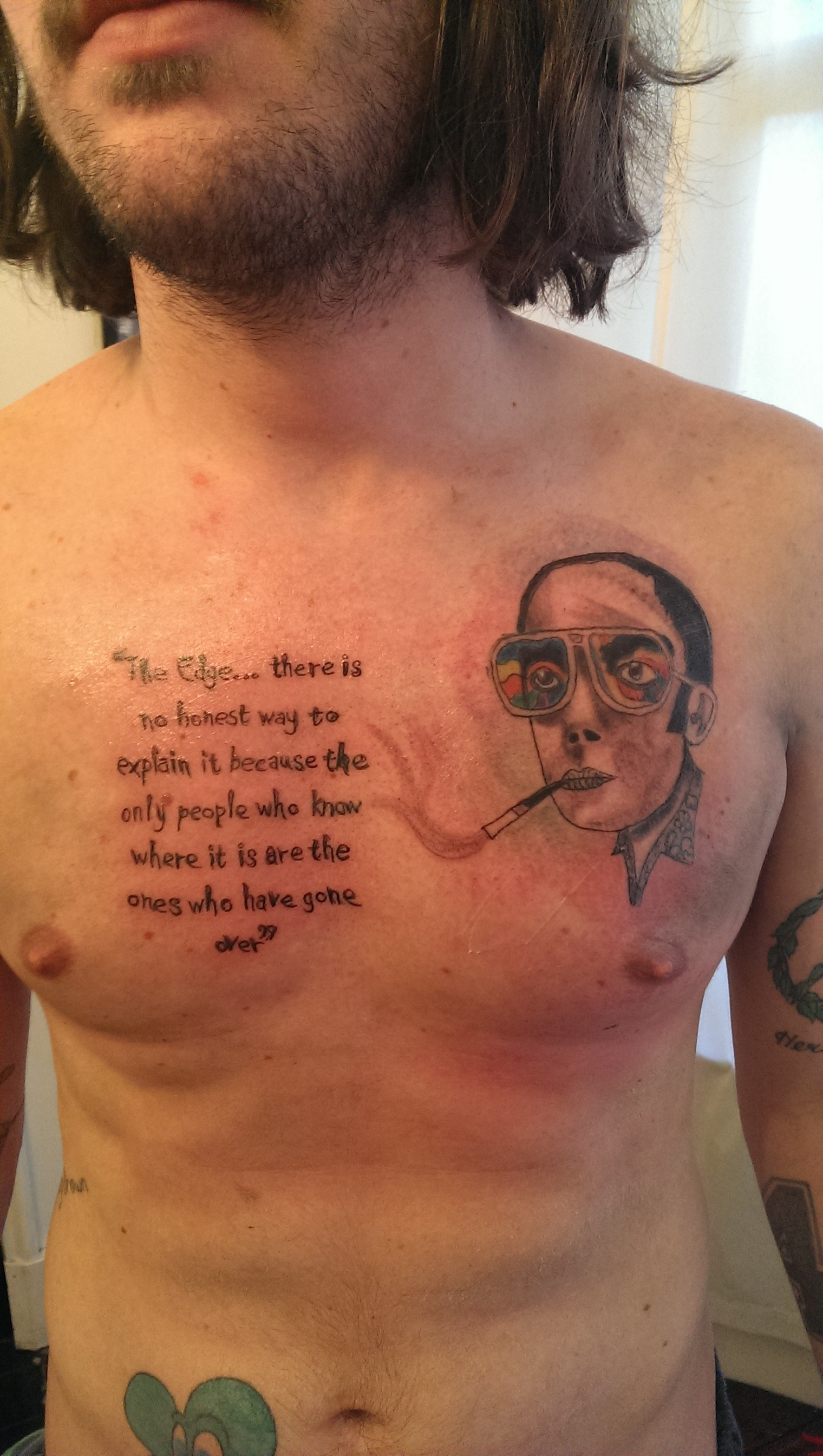 1520x2688 Hunter S. Thompson images hunter s tattoo HD wallpaper and background photos