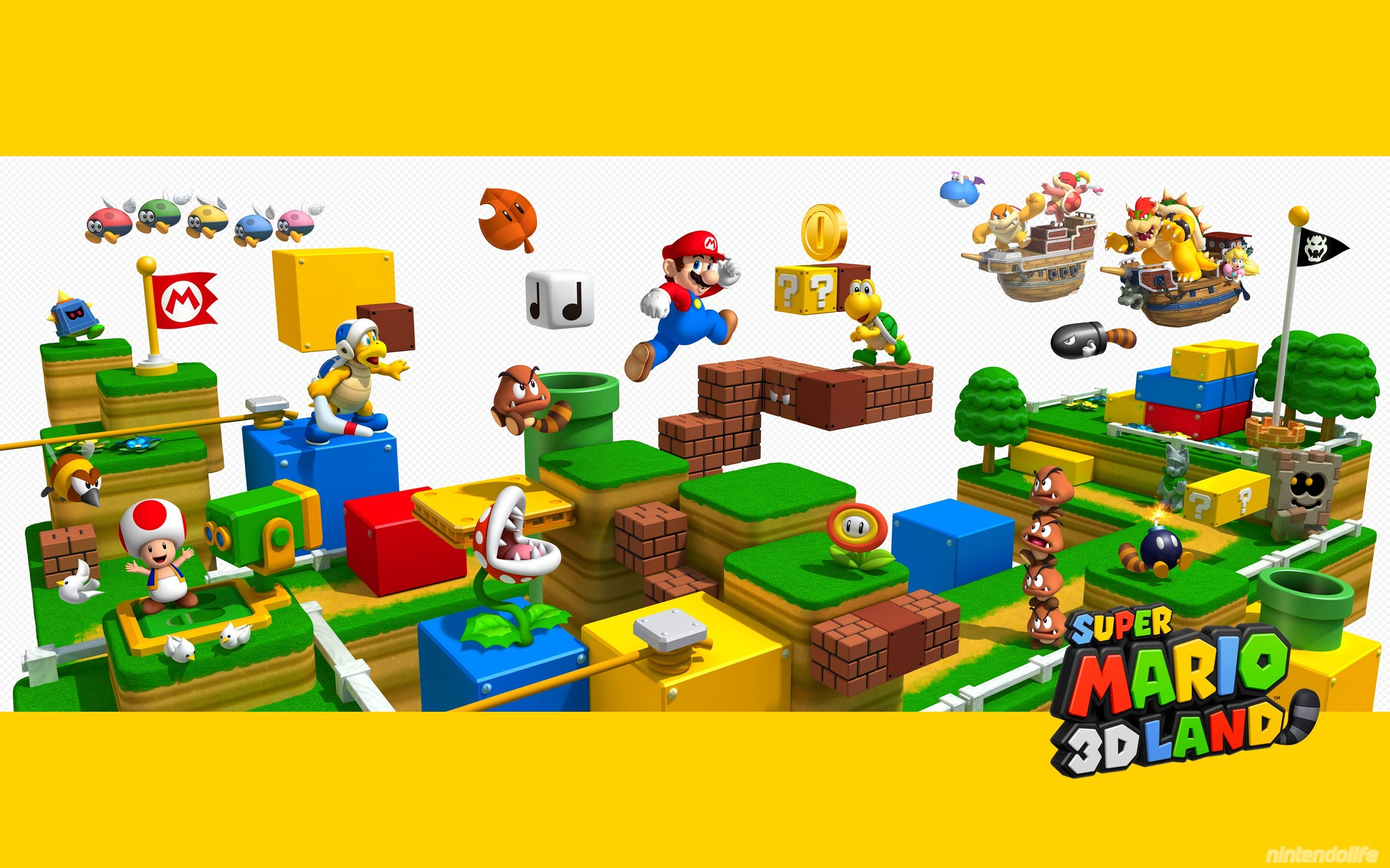 2560x1600 Super Mario 3D Land - Wallpaper 3