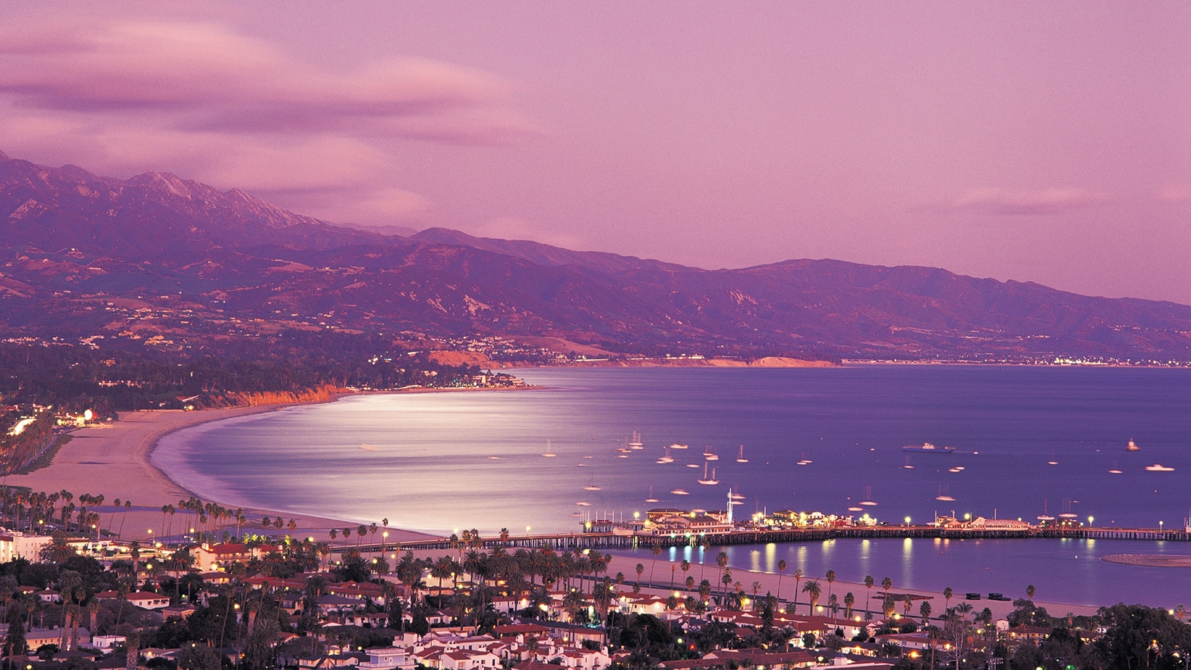 3840x2160 Preview wallpaper santa barbara, california, united states of america