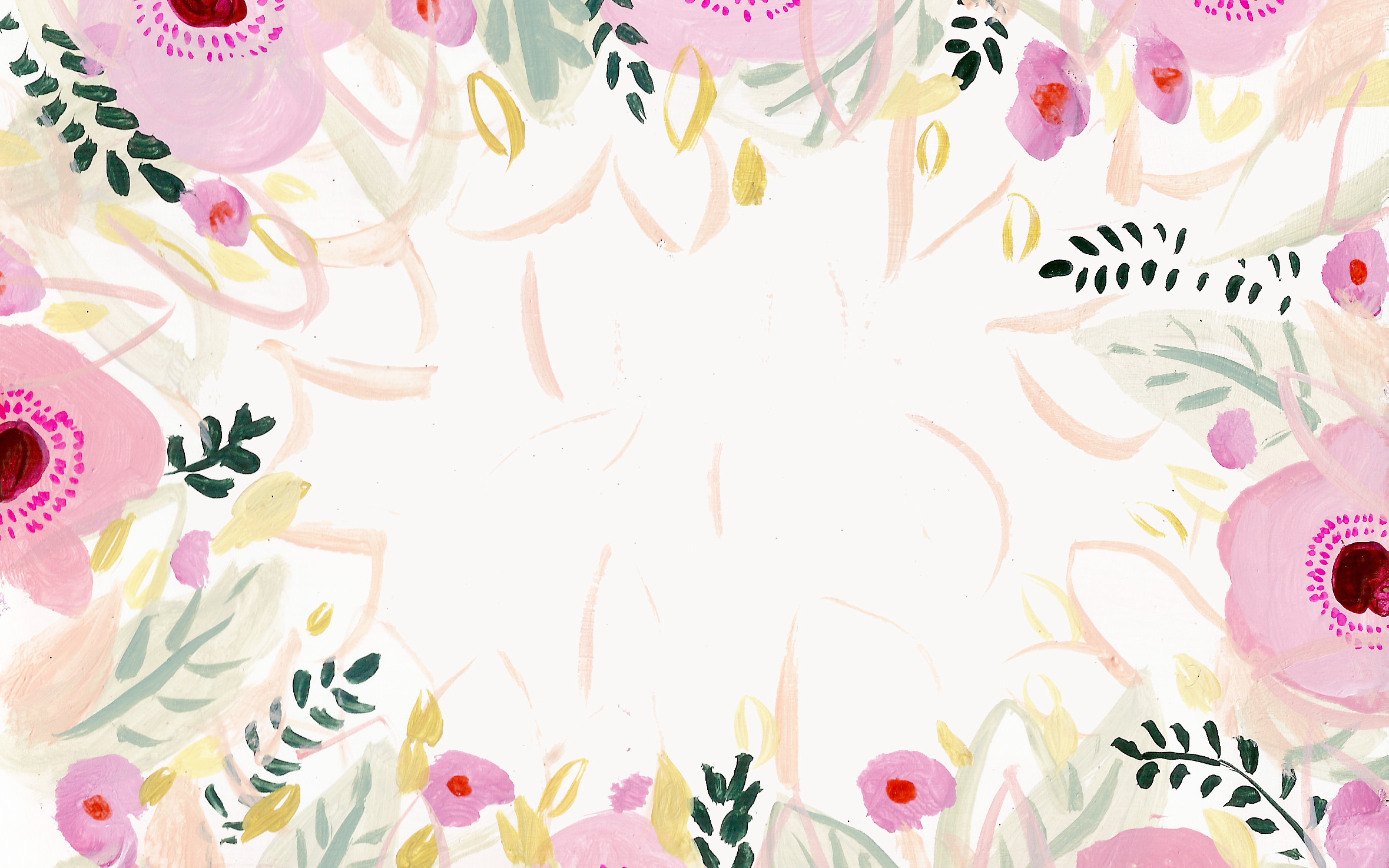2359x1475 Pink Flower Desktop Background By Kt Smail