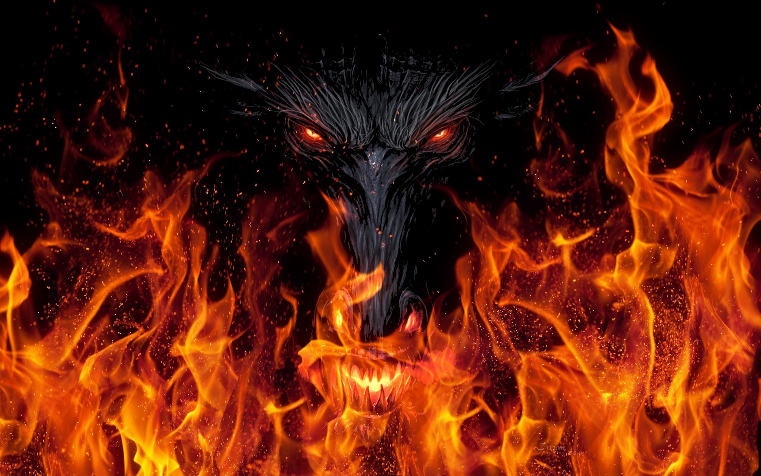 Download Original Wallpaper Category Creative Source Red Dragon HD 65 Images