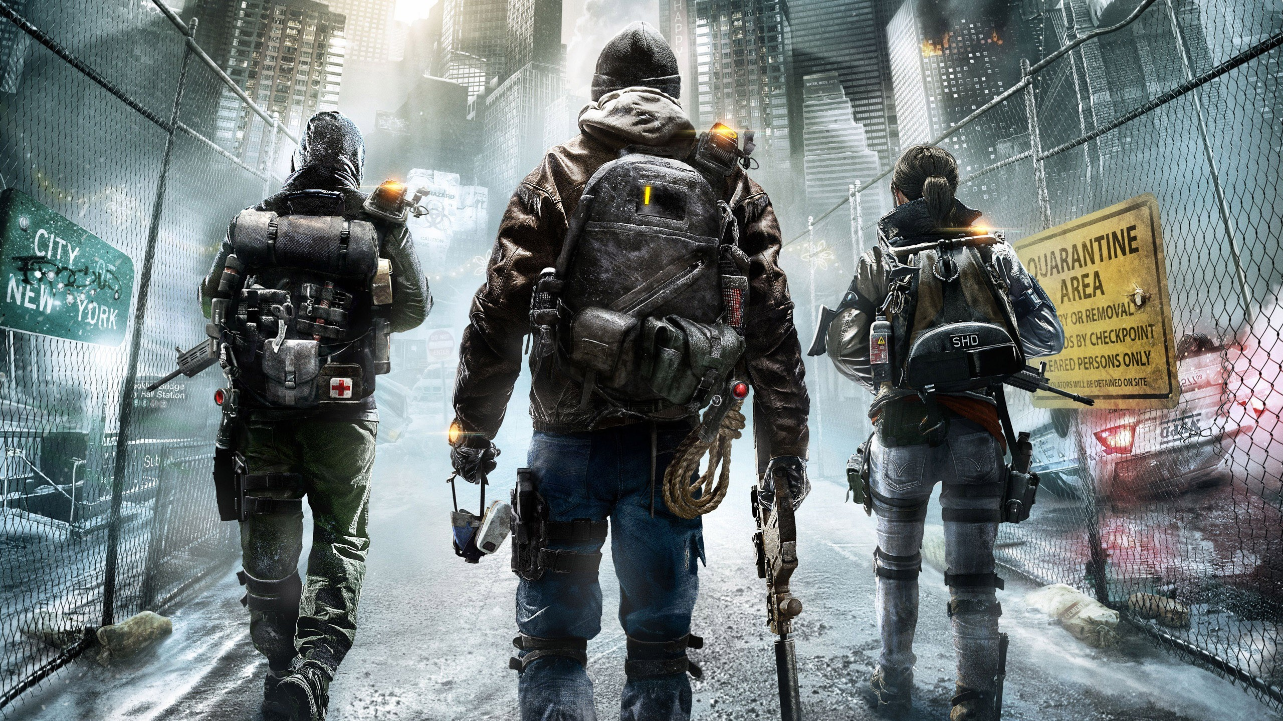 2560x1440 Tom Clancys The Division 2015 Game Desktop Wallpaper. November 27, 2014. in   Wallpapers ...