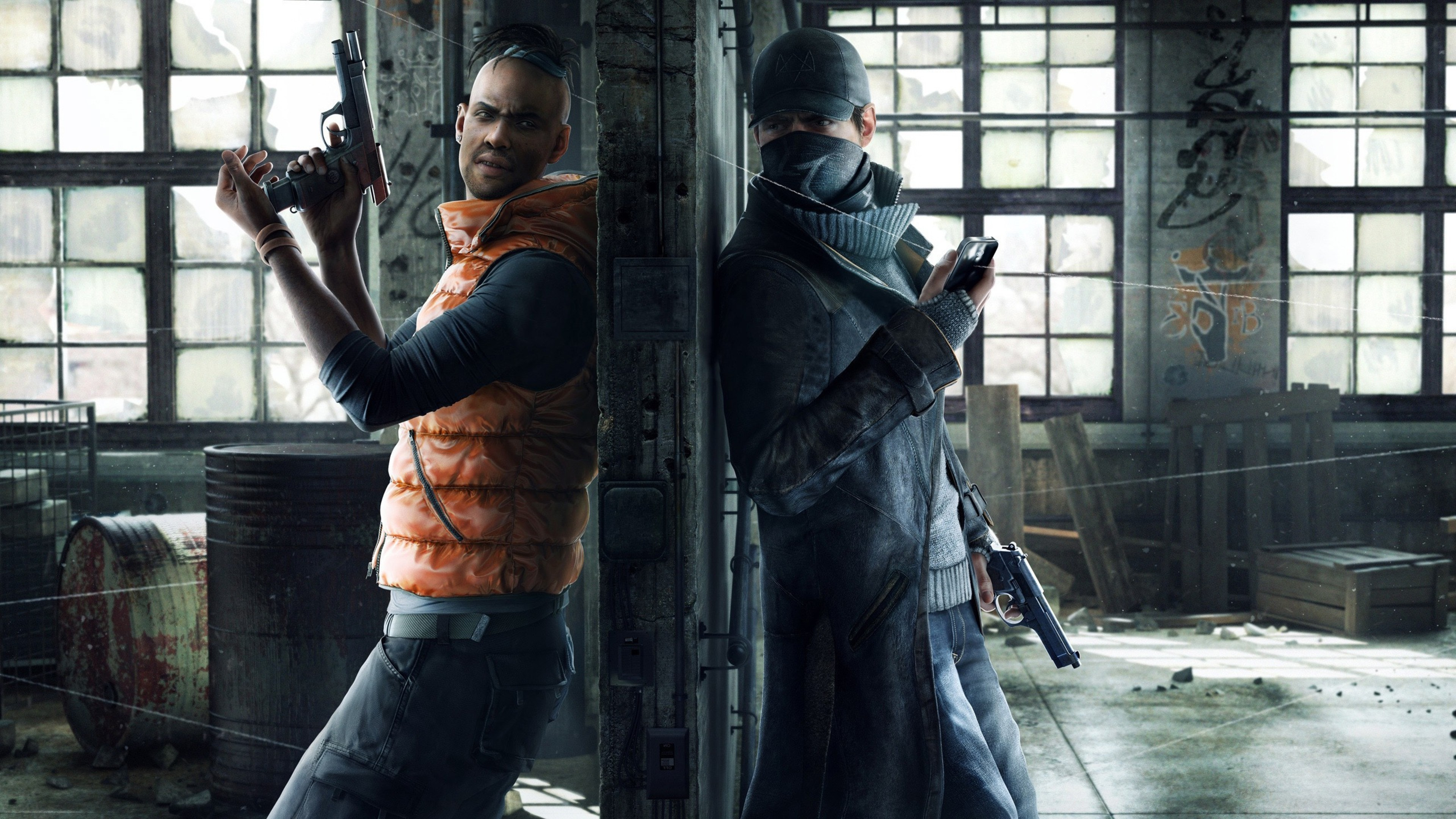 3840x2160 Watch Dogs Game HD