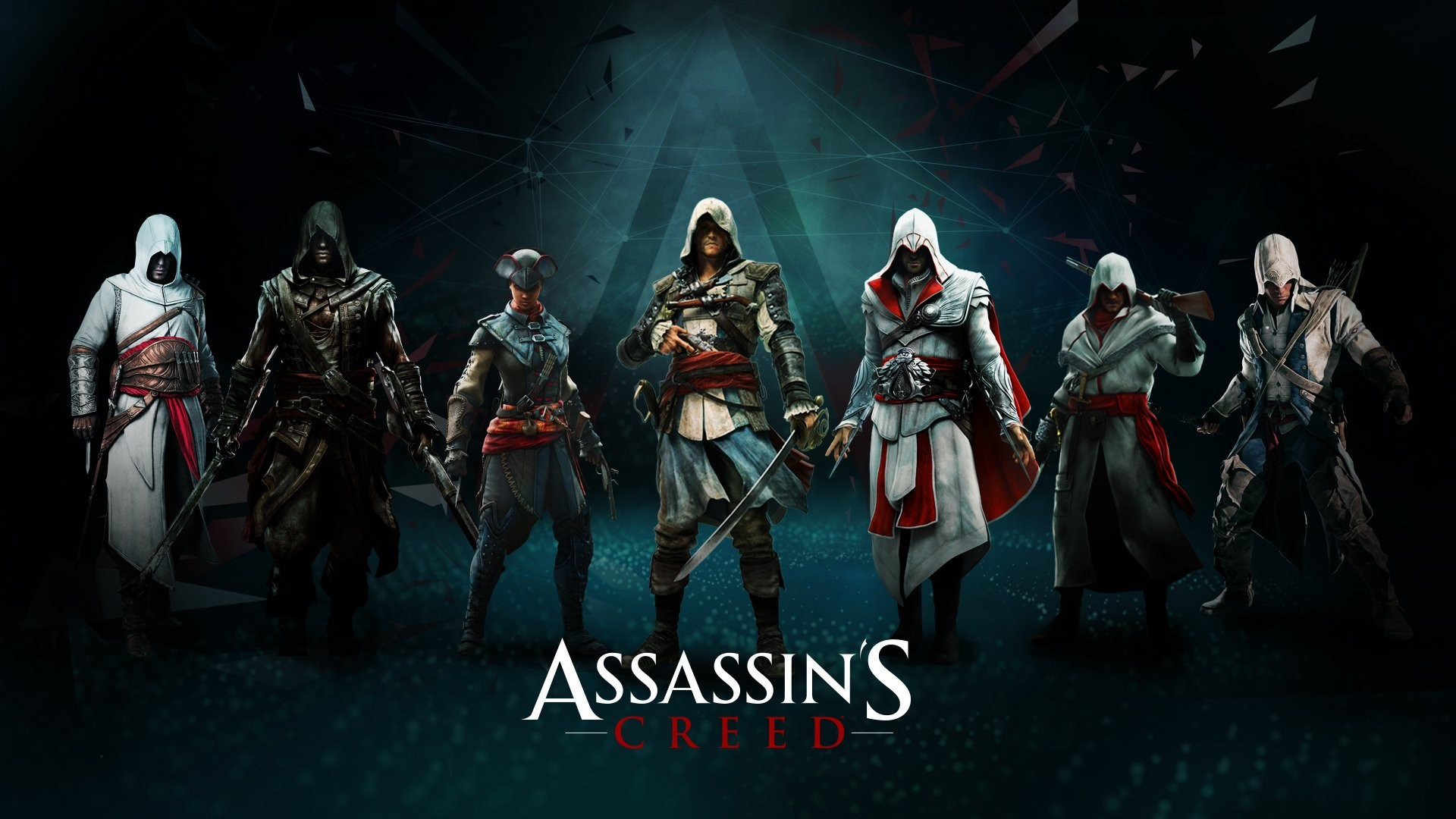 1920x1080 Computerspiele - Assassin's Creed Altair (Assassin's Creed) Connor (Assassin's  Creed) Ezio (