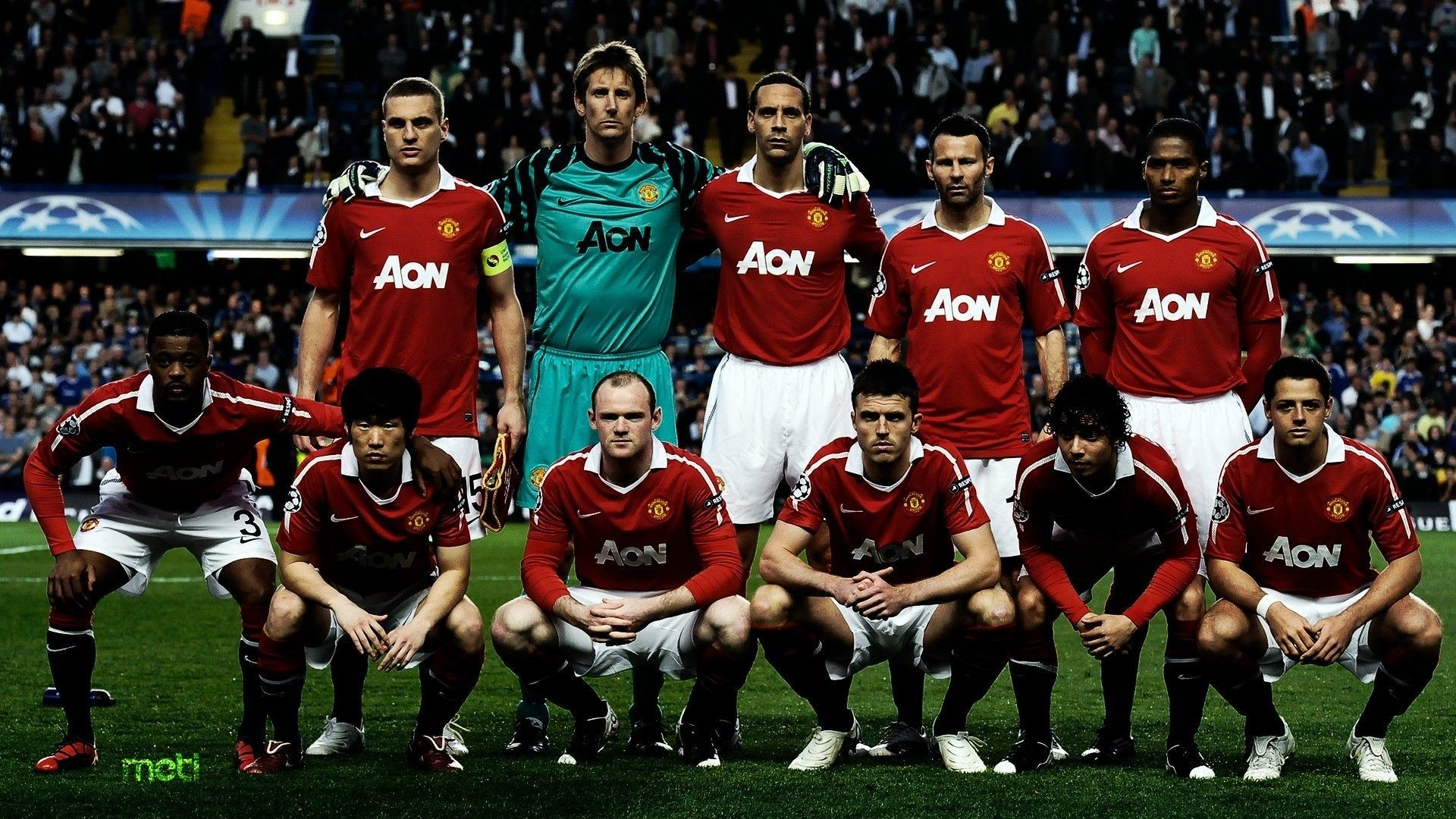 1920x1080 Manchester United Team Wallpapers - Wallpaper Cave