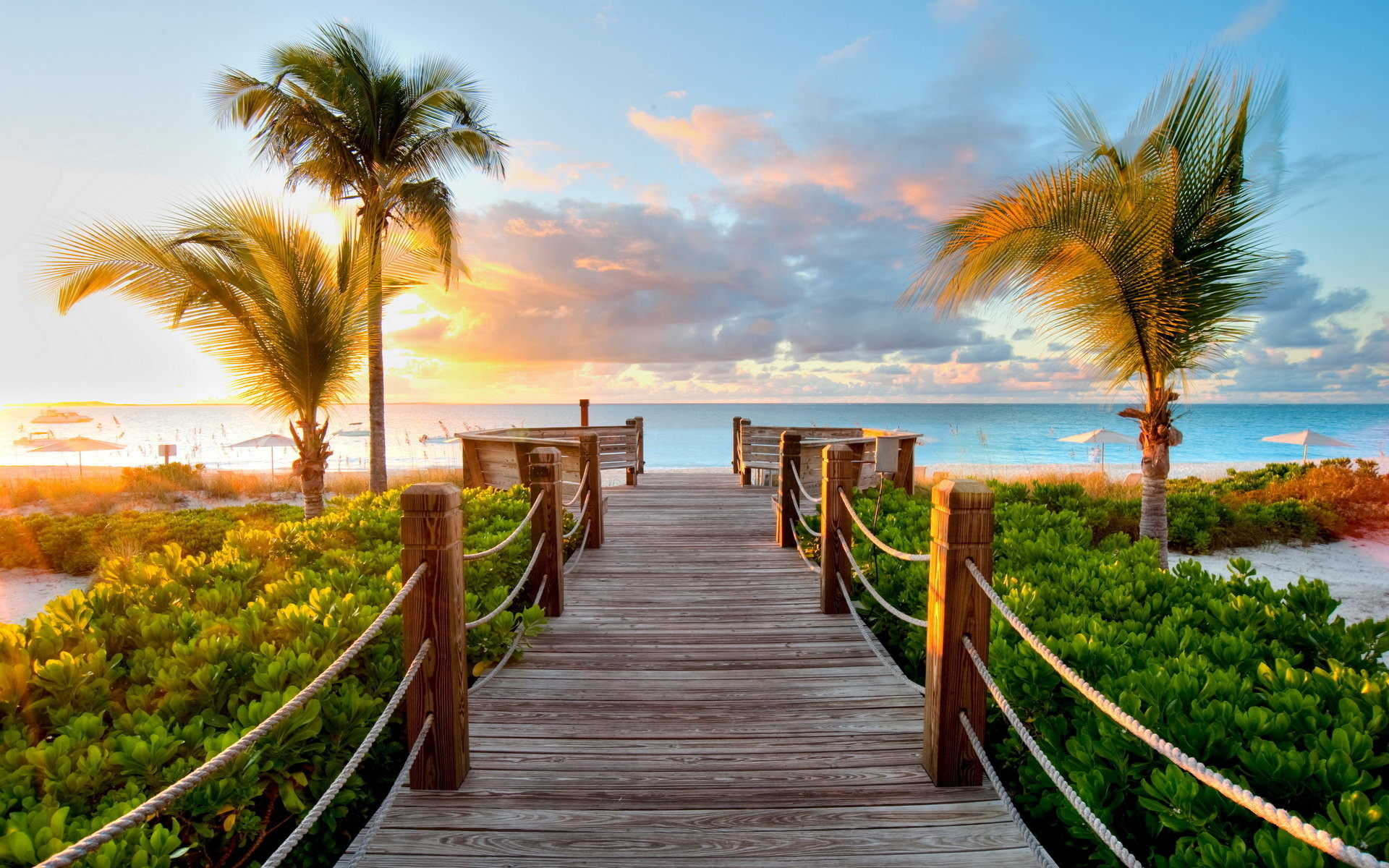Beautiful background images 64 images 1920x1200 tropical boardwalk beautiful background voltagebd Images