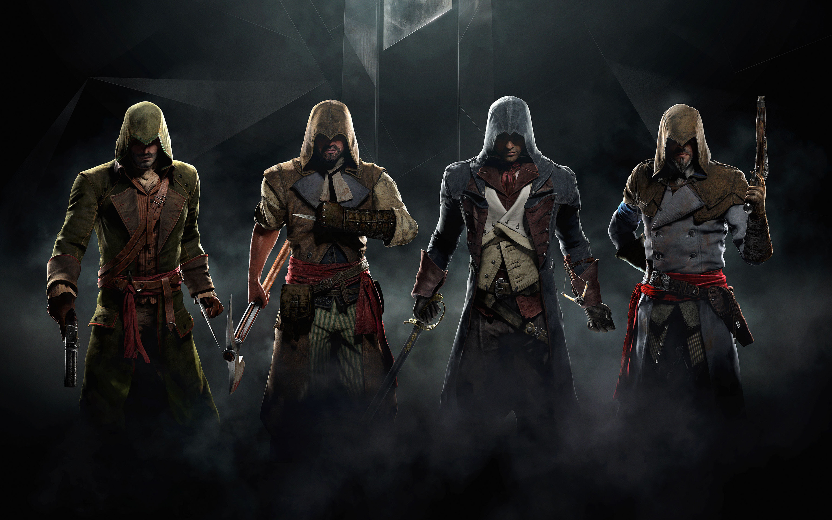 2880x1800 Assassin's Creed Unity Game